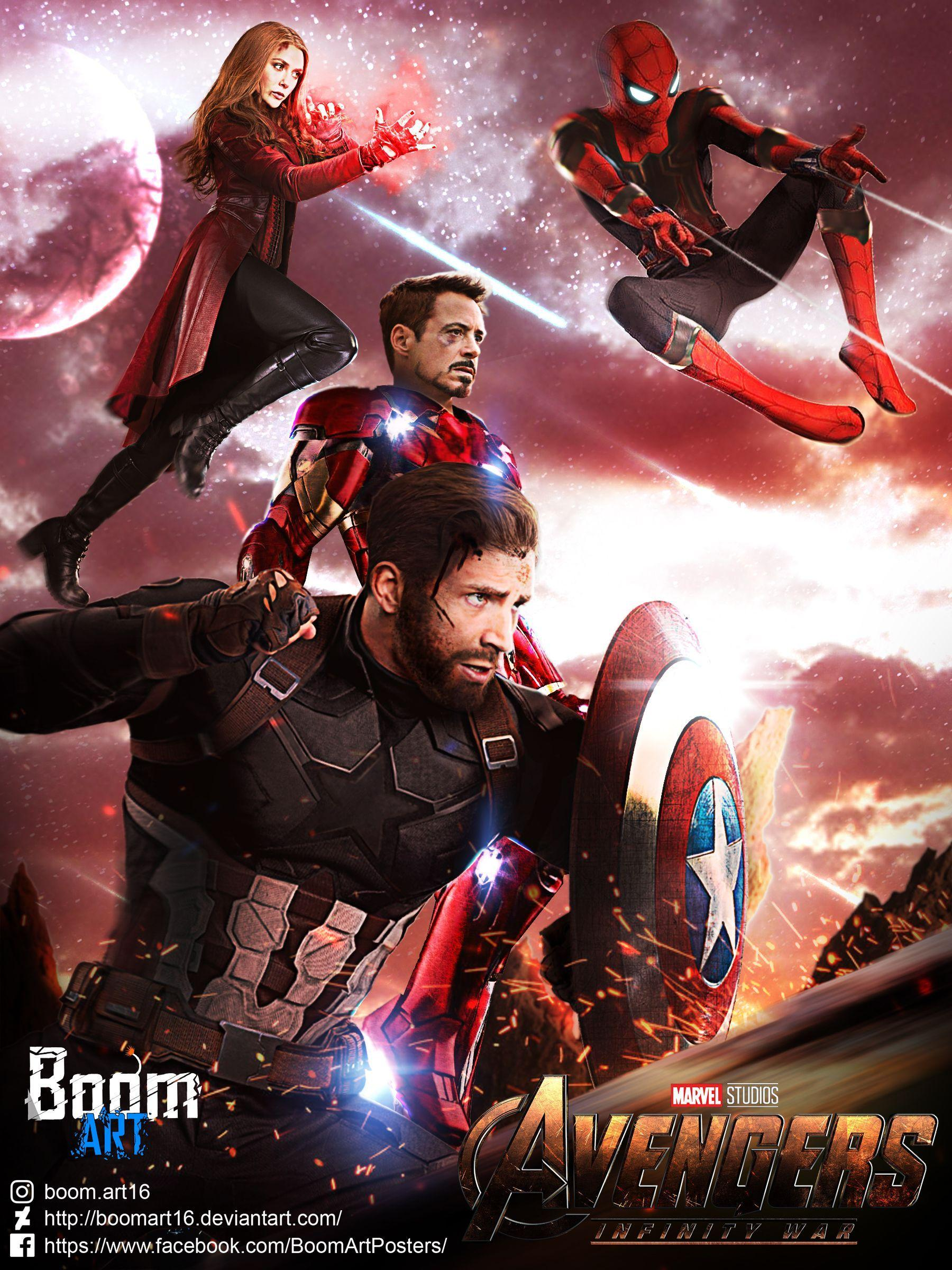 Captain America Infinity War Wallpapers - Wallpaper Cave