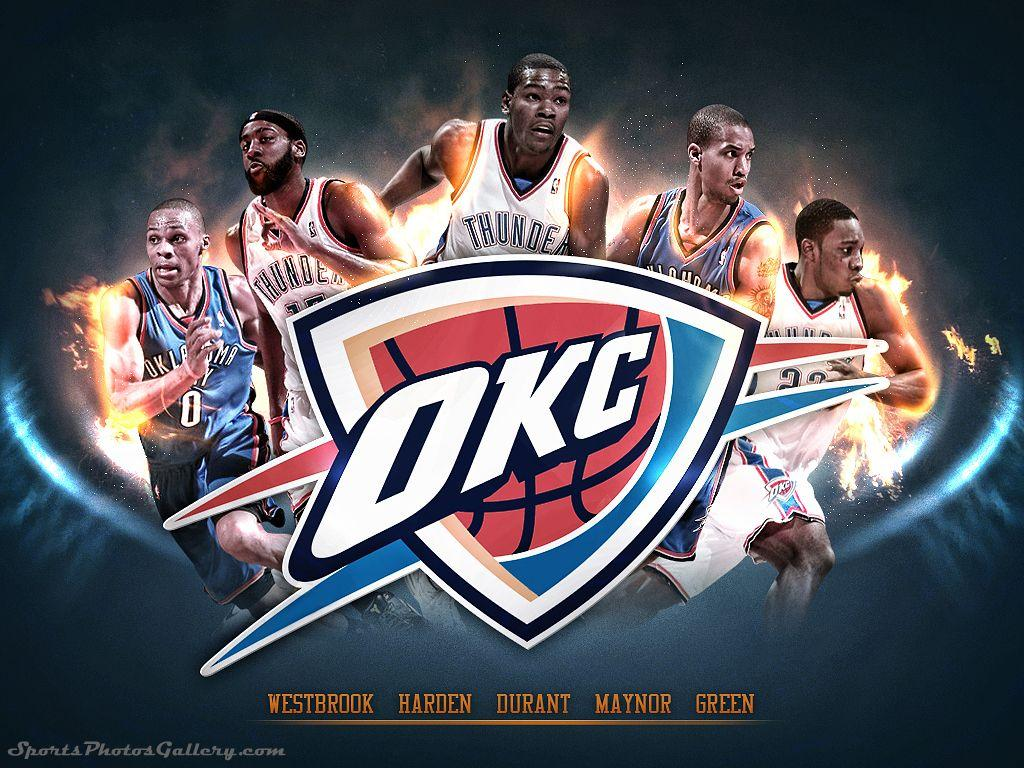 Oklahoma City Thunder 2018 Wallpapers Wallpaper Cave