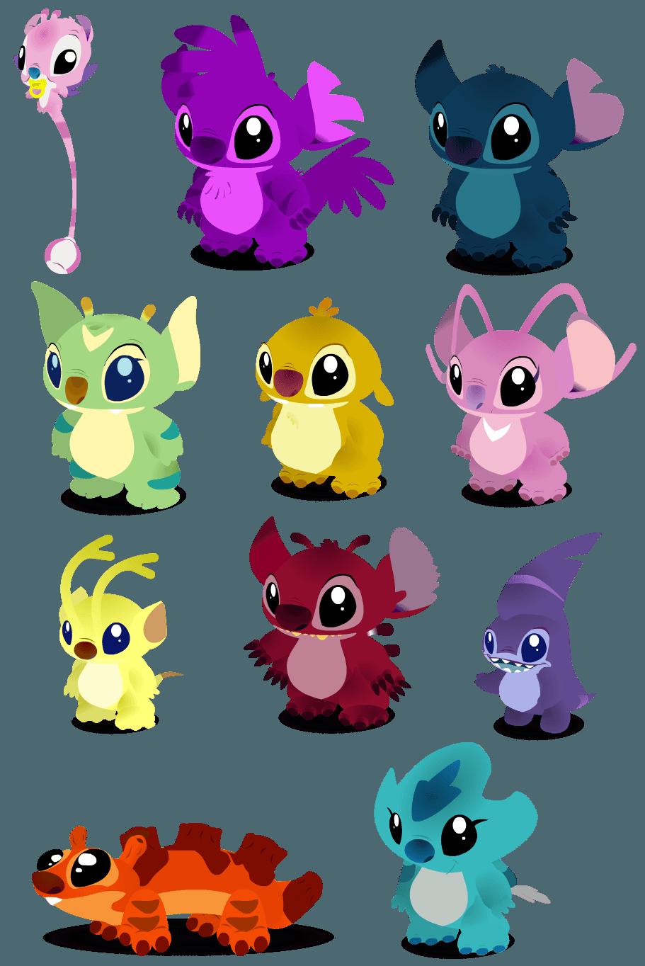 Lilo And Stitch 625 Fiori Idea Immagine