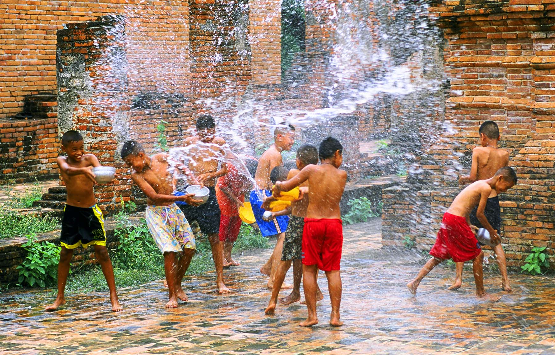 Songkran Festival Thailand Latest Pictures Full HD