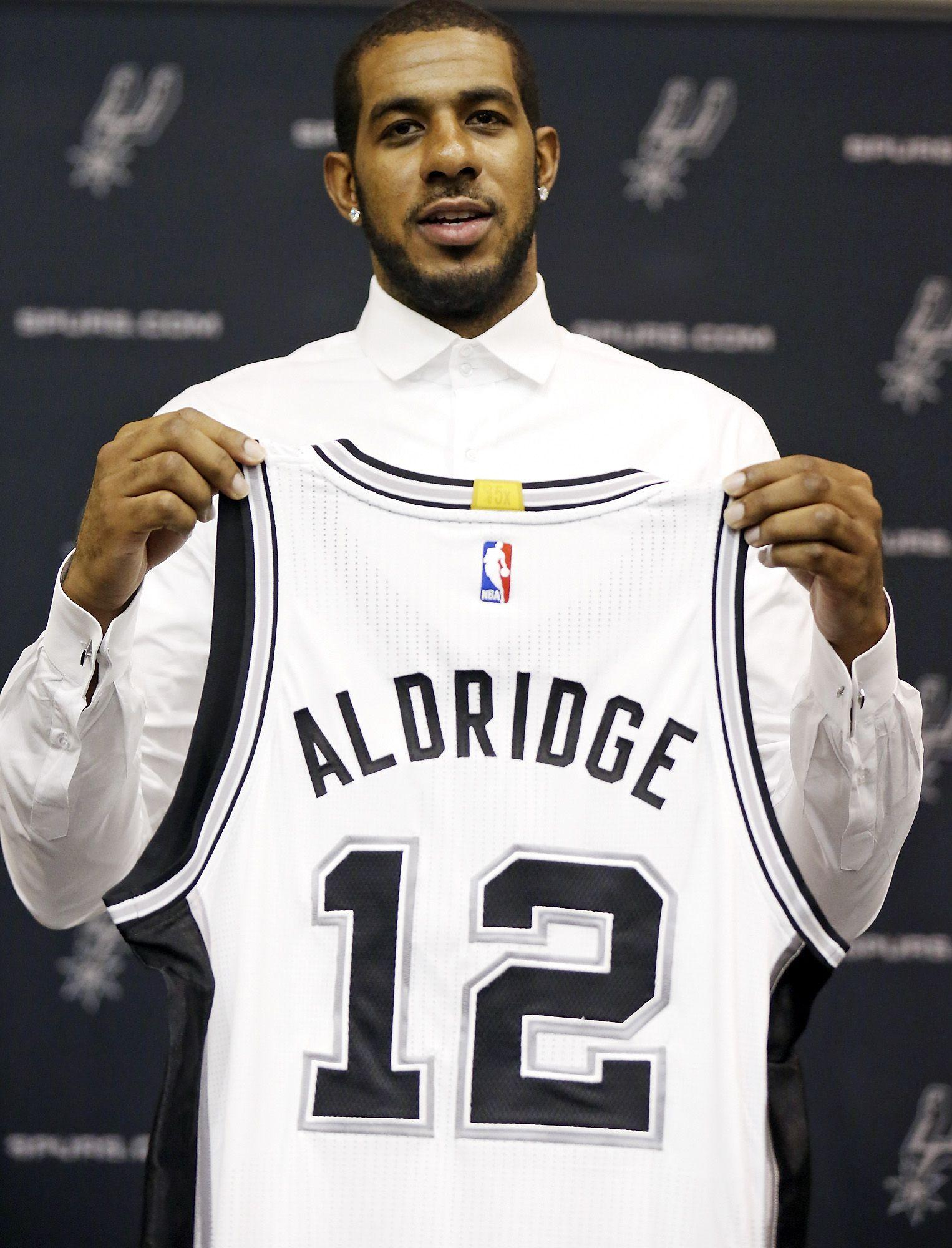 LaMarcus Aldridge: Tim Duncan was 'huge in my decision' to join