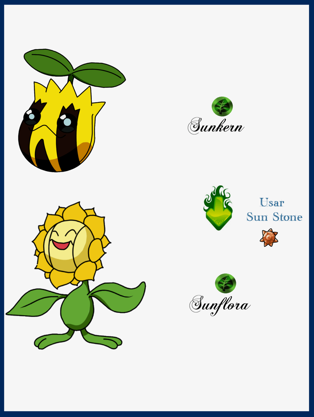 089 Sunkern Evoluciones by Maxconnery on DeviantArt