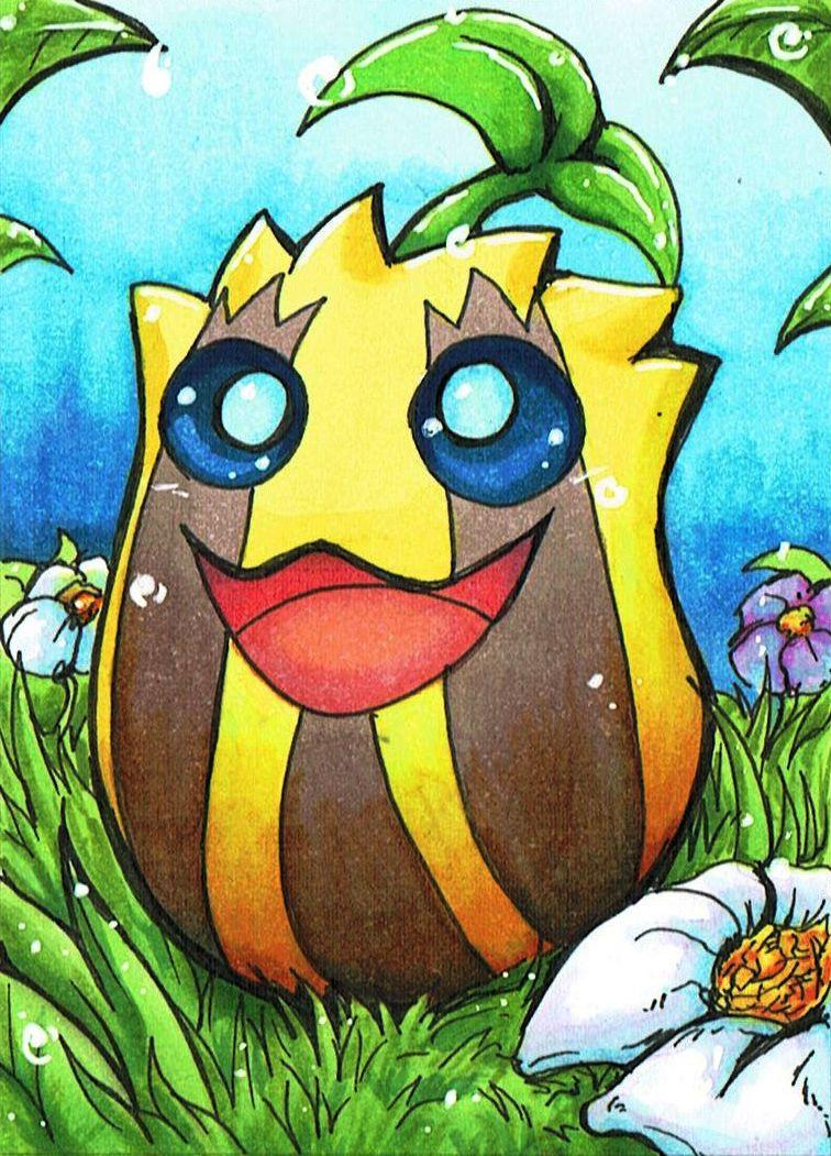 Sunkern by ChershireHatter on DeviantArt