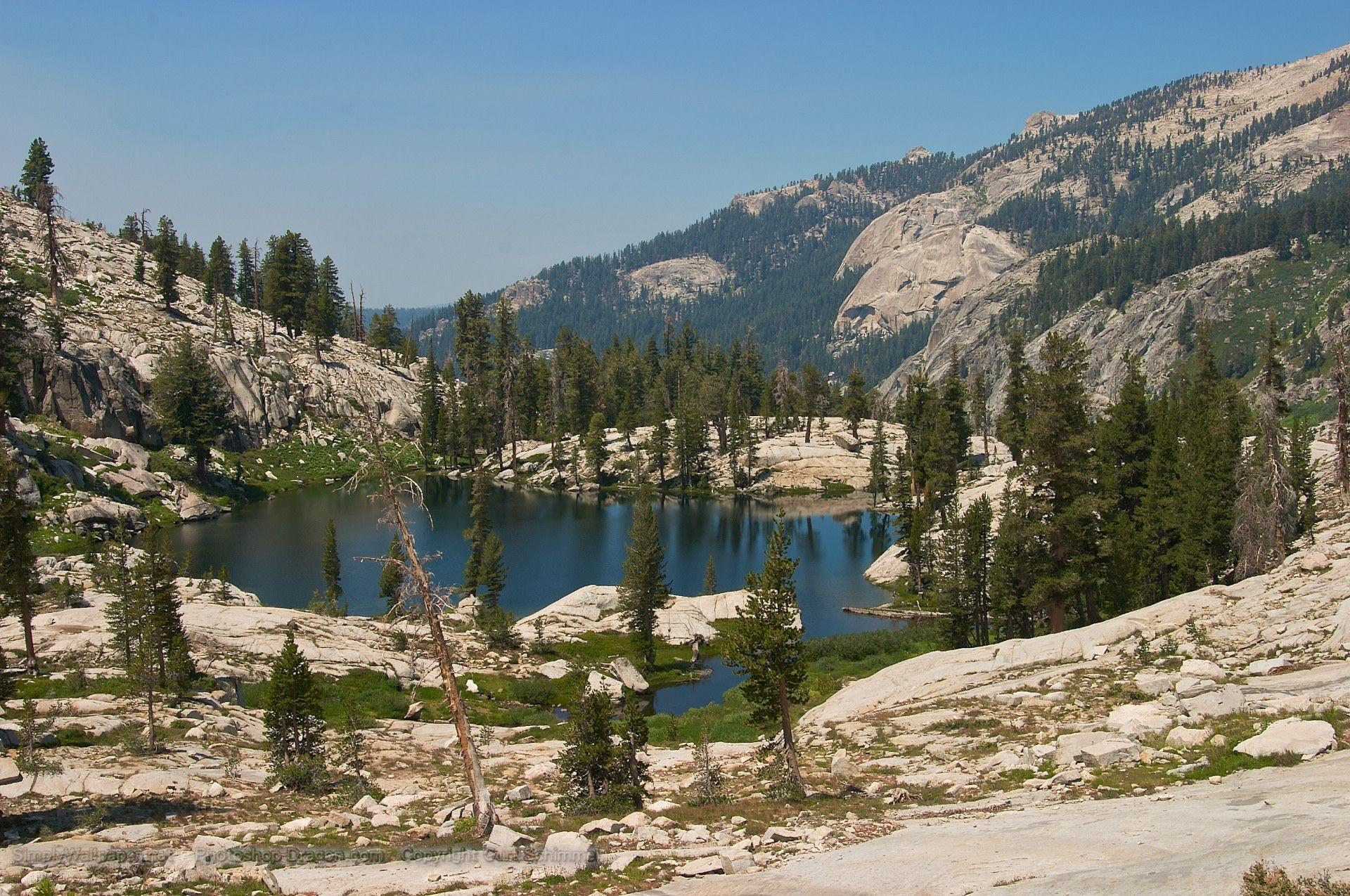 Blue Pond at Sequoia National Park Desktop Wallpapers