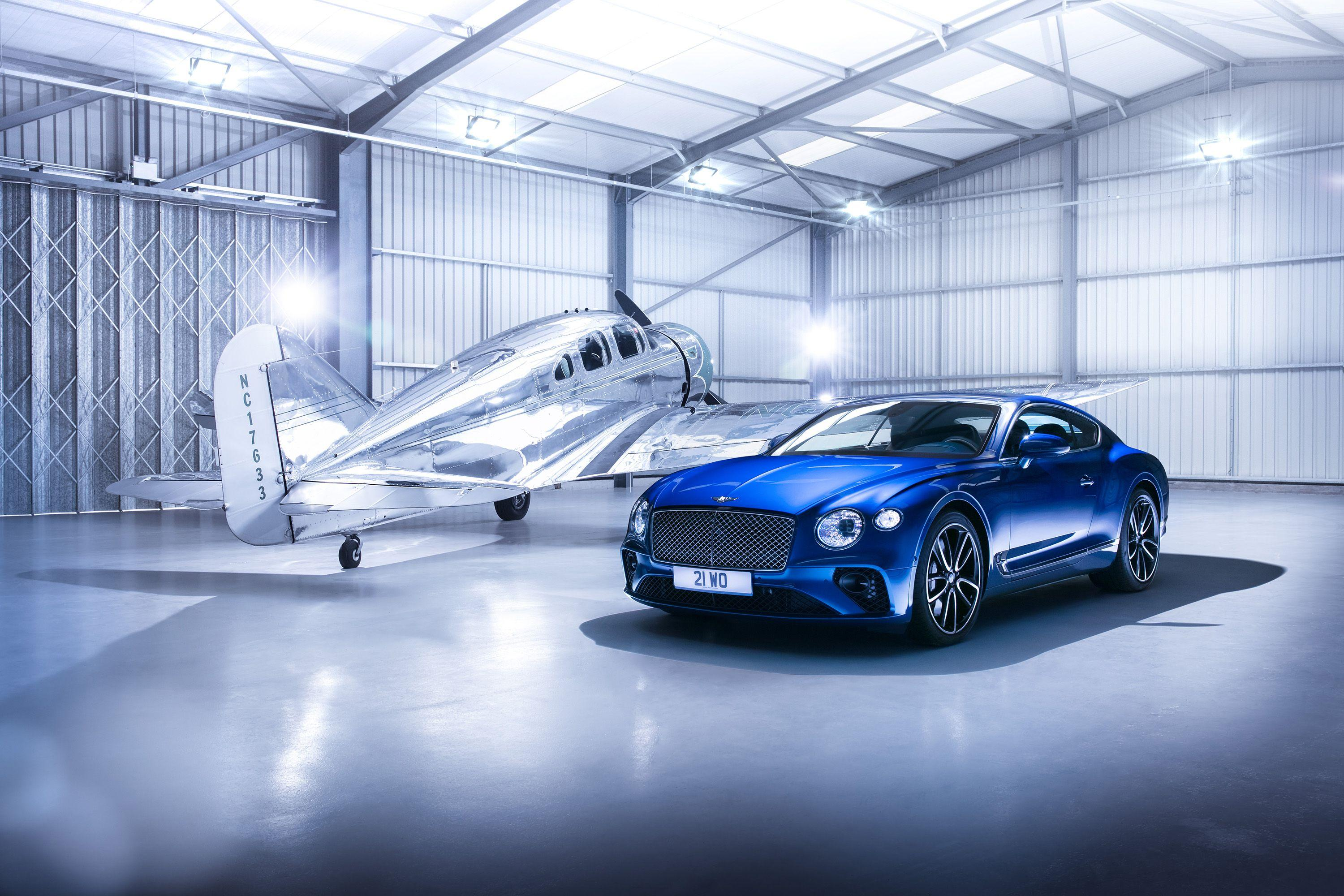 Wallpaper Bentley Continental GT, 2018, HD, Automotive / Cars, #9833