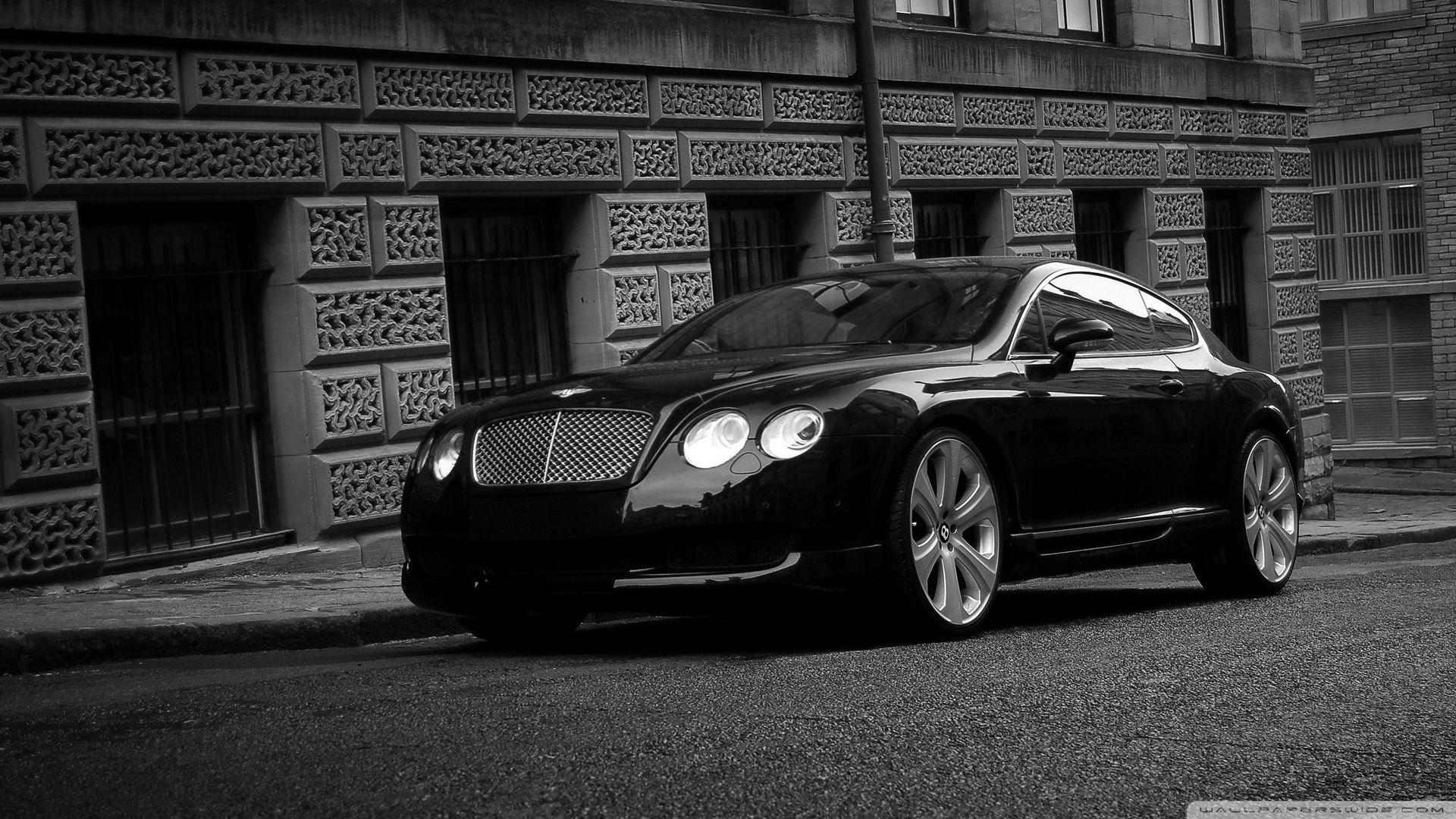 Bentley Continental GT Black ❤ 4K HD Desktop Wallpaper for 4K ...