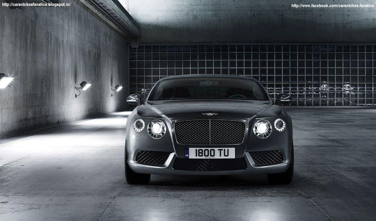 Car & Bike Fanatics: 2013 Bentley Continental GT V8 Wallpaper
