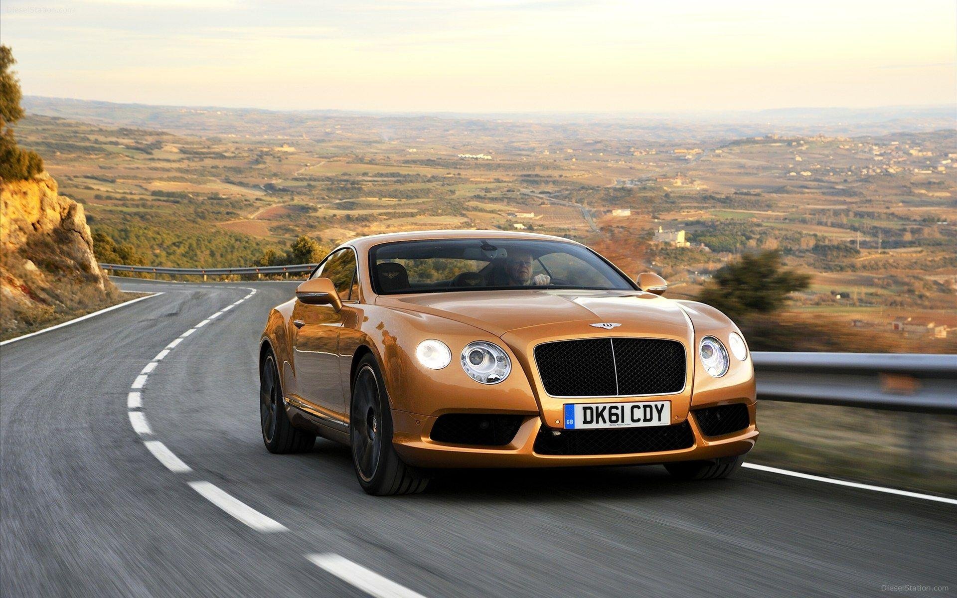 Bentley Continental GT V8 2012 Widescreen Exotic Car Wallpapers ...