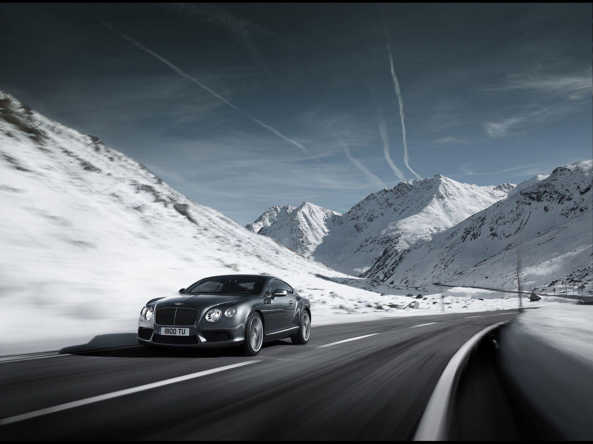 2012 Bentley Continental GT V8 - Grey Front Angle Speed ...