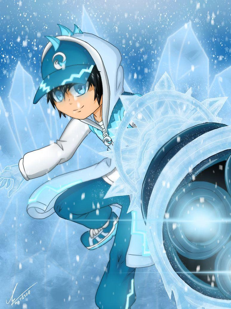 BoBoiBoy Fire Ice Solar Wallpapers Wallpaper Cave