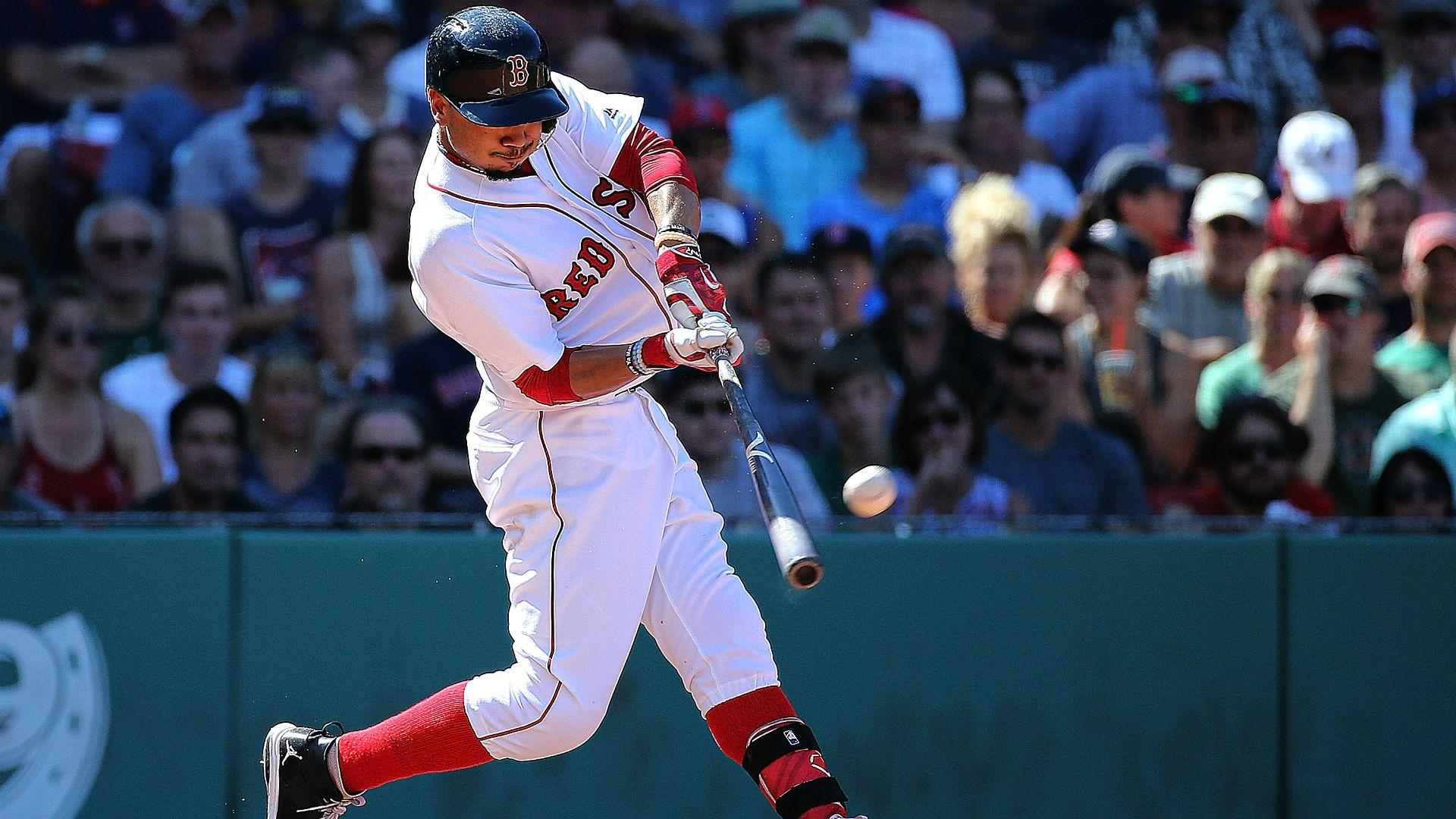 Mookie Betts rips three homers for second time in 2016