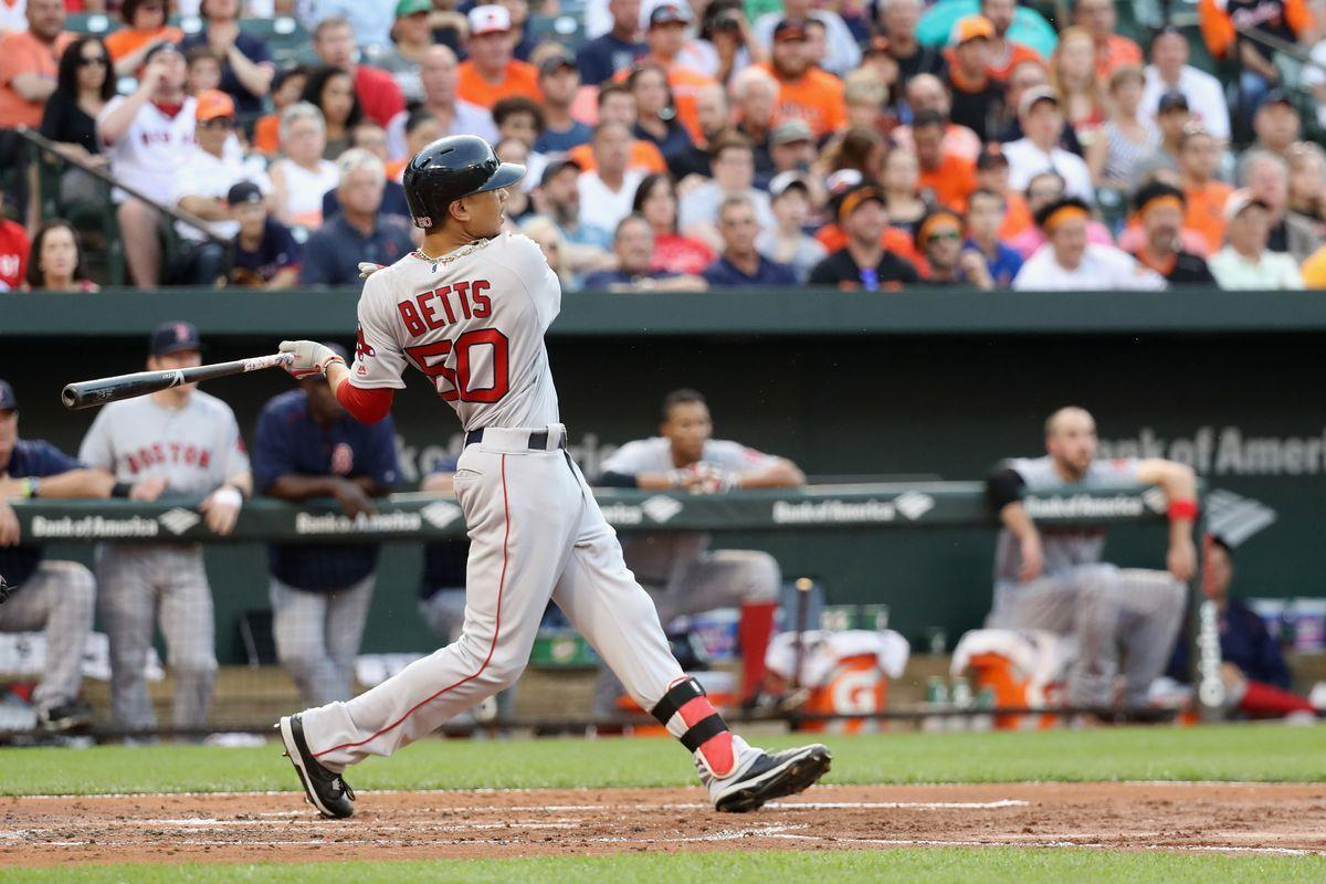 Mookie Betts hit 3 homers, is crushing everything despite his size