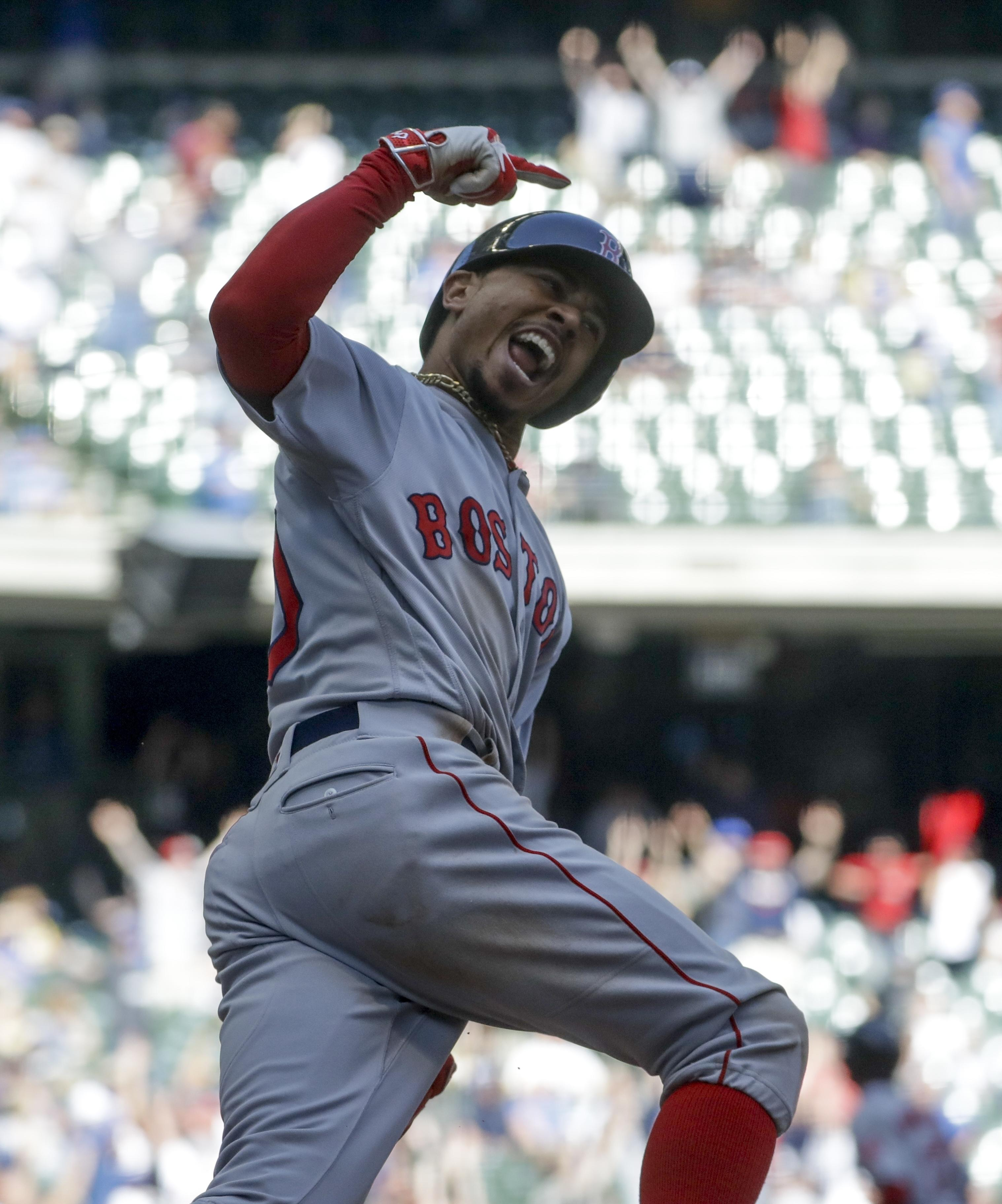 Mookie Betts, Craig Kimbrel lift Red Sox to sweep