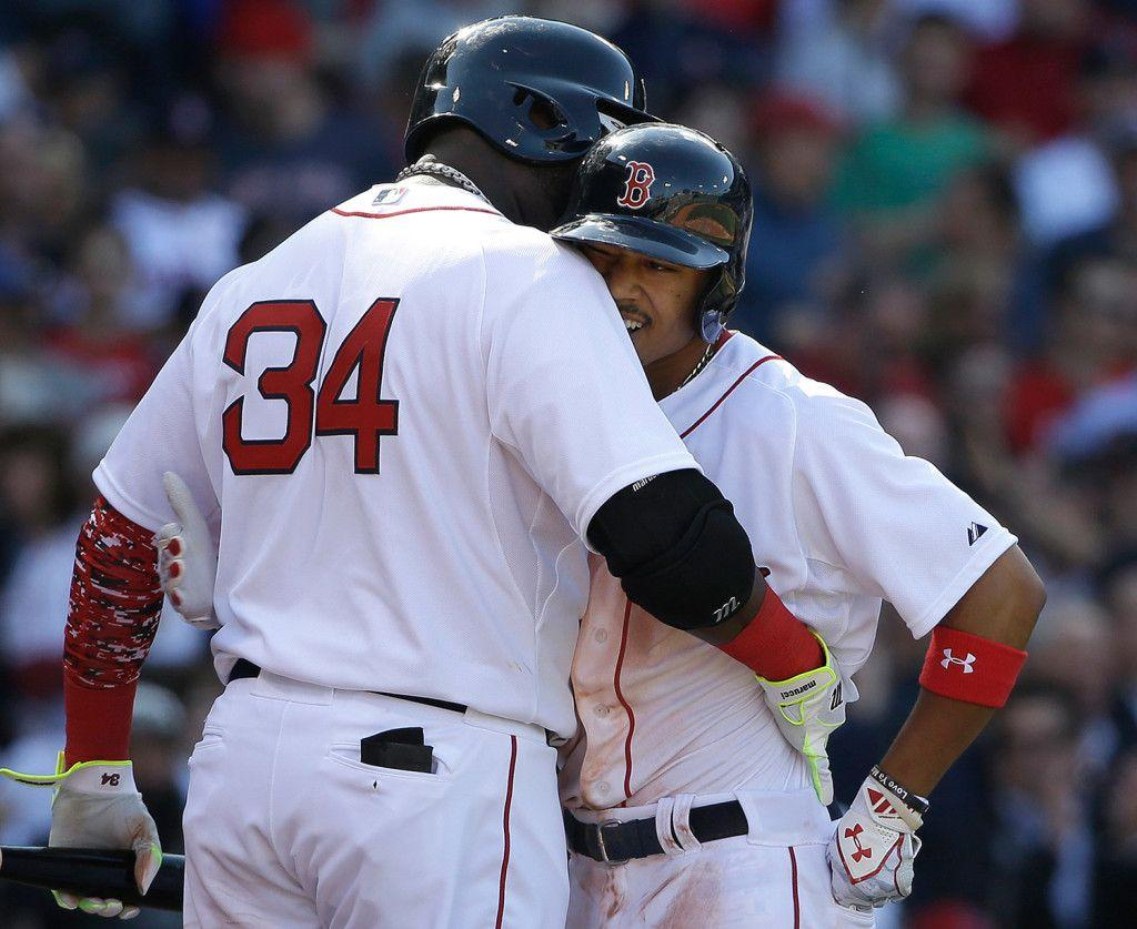 Mookie Betts shines as Red Sox whip Nationals, 9