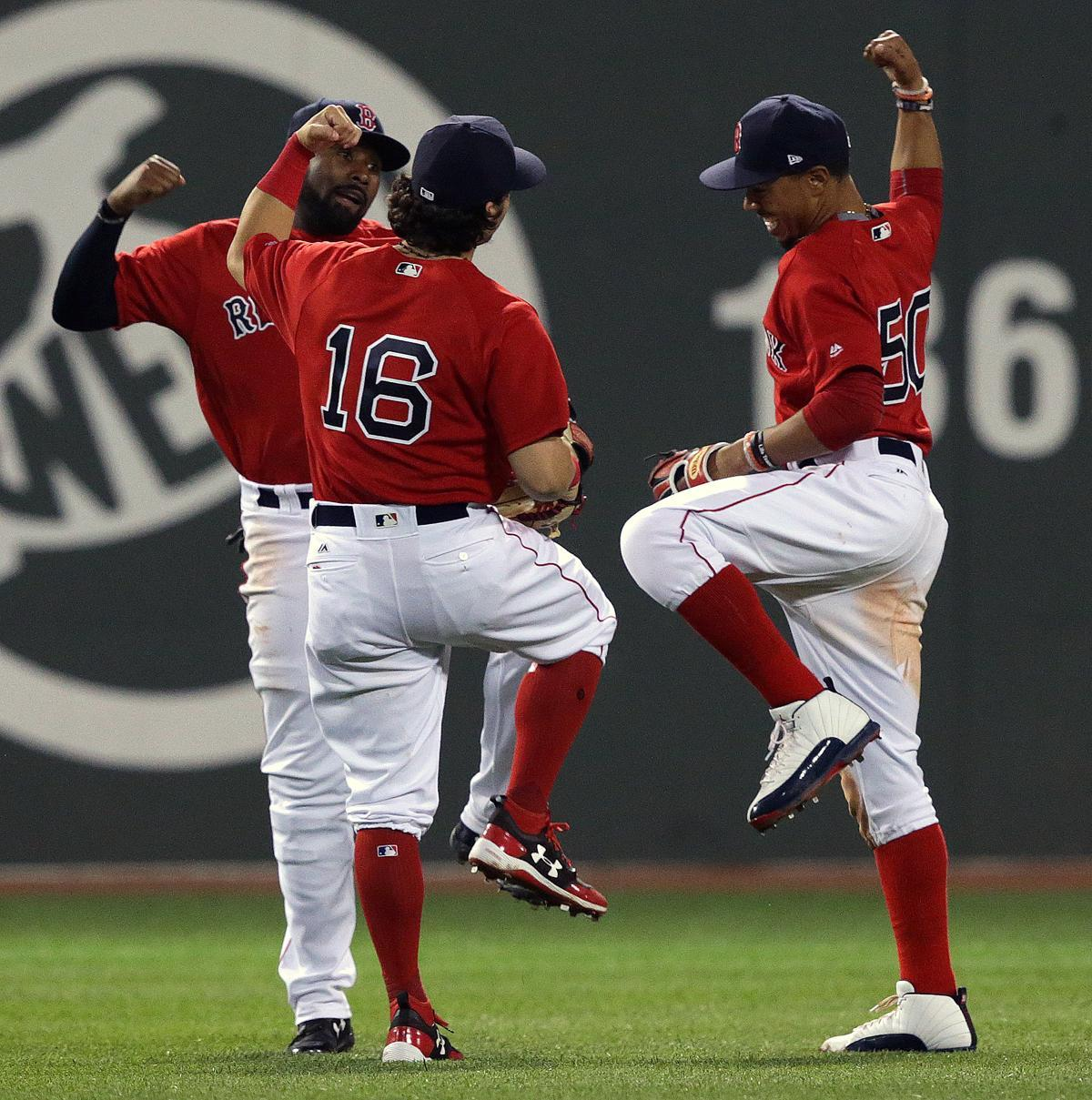 Lineup changes give Red Sox a lift in victory over Cubs
