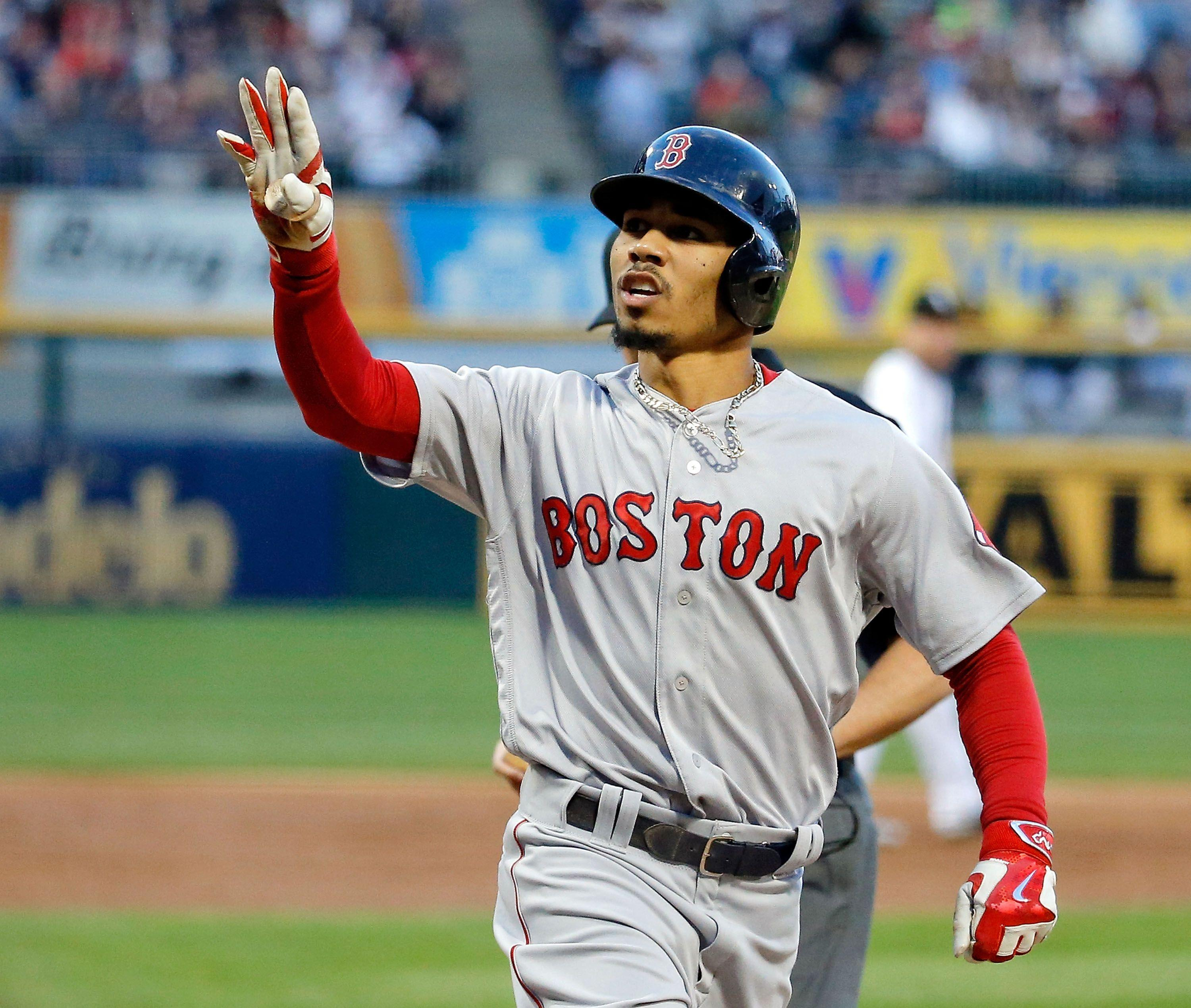 Mookie Betts is about to get hot
