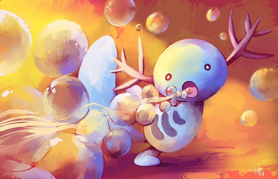 Pokemon of the day, Gen 2! WOOPER/Quagsire!!!!!!