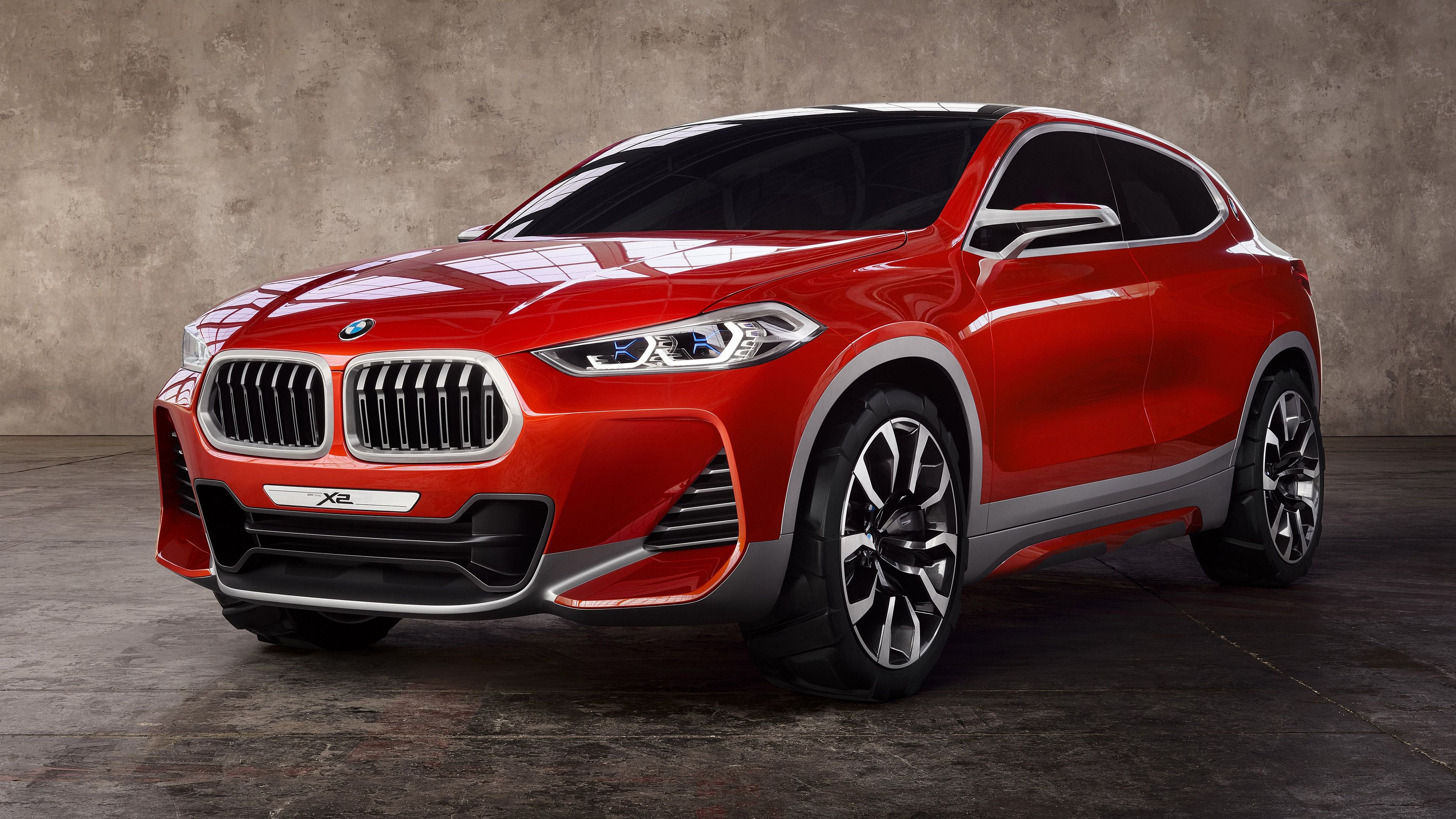 2018 BMW X2 Concept 4K Wallpapers