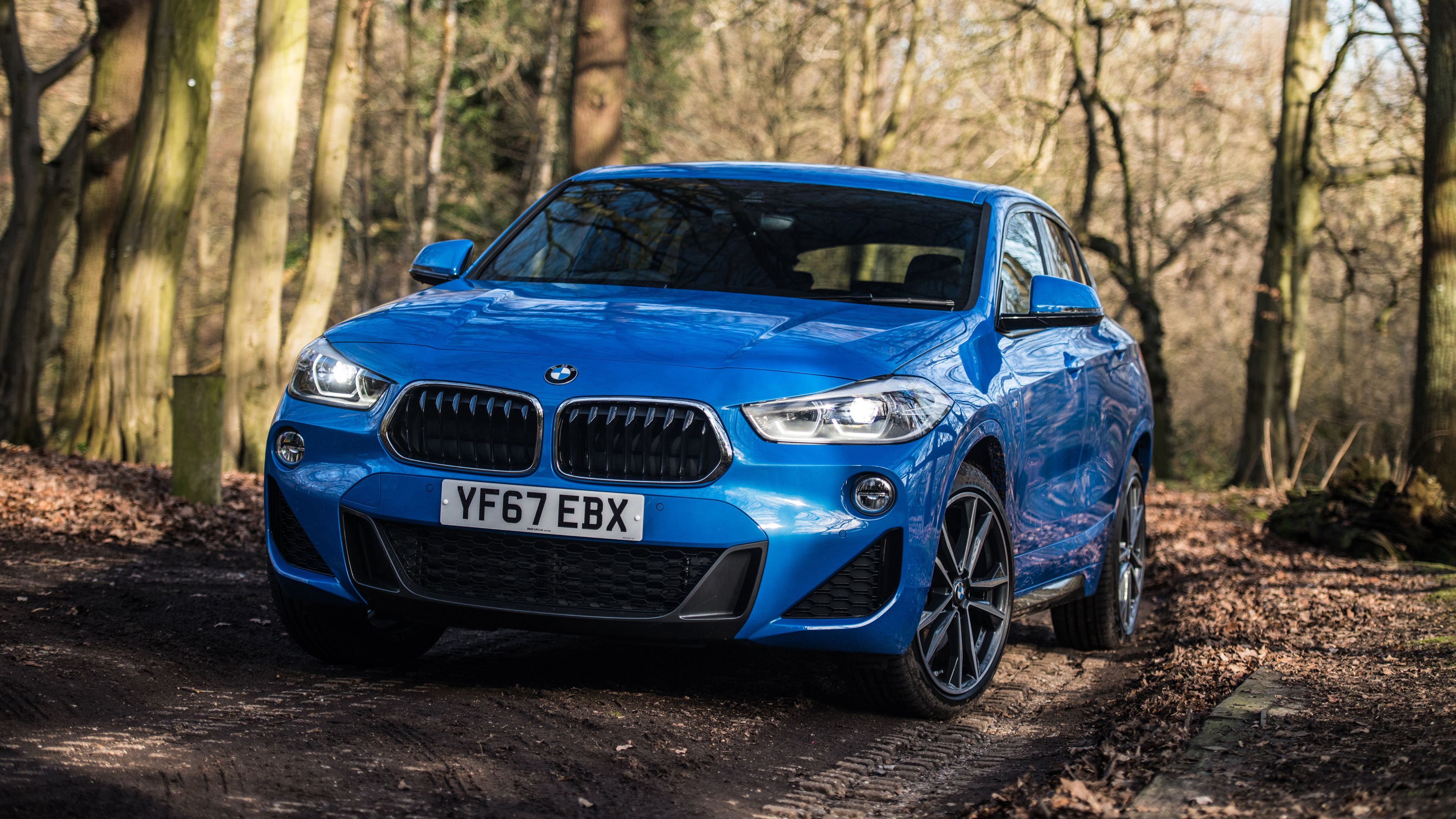 2018 BMW X2 xDrive20d M Sport 4K Wallpapers