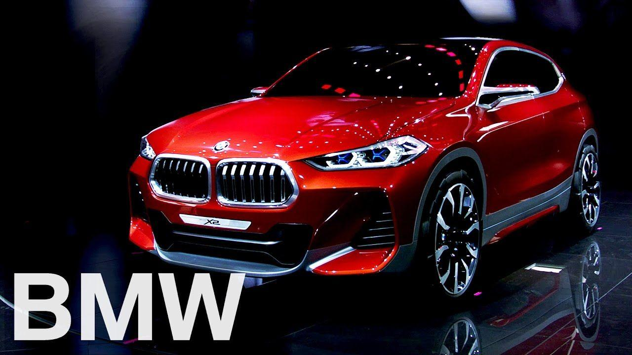 BMW Concept X2. World Premiere at the Paris Motor Show 2016.