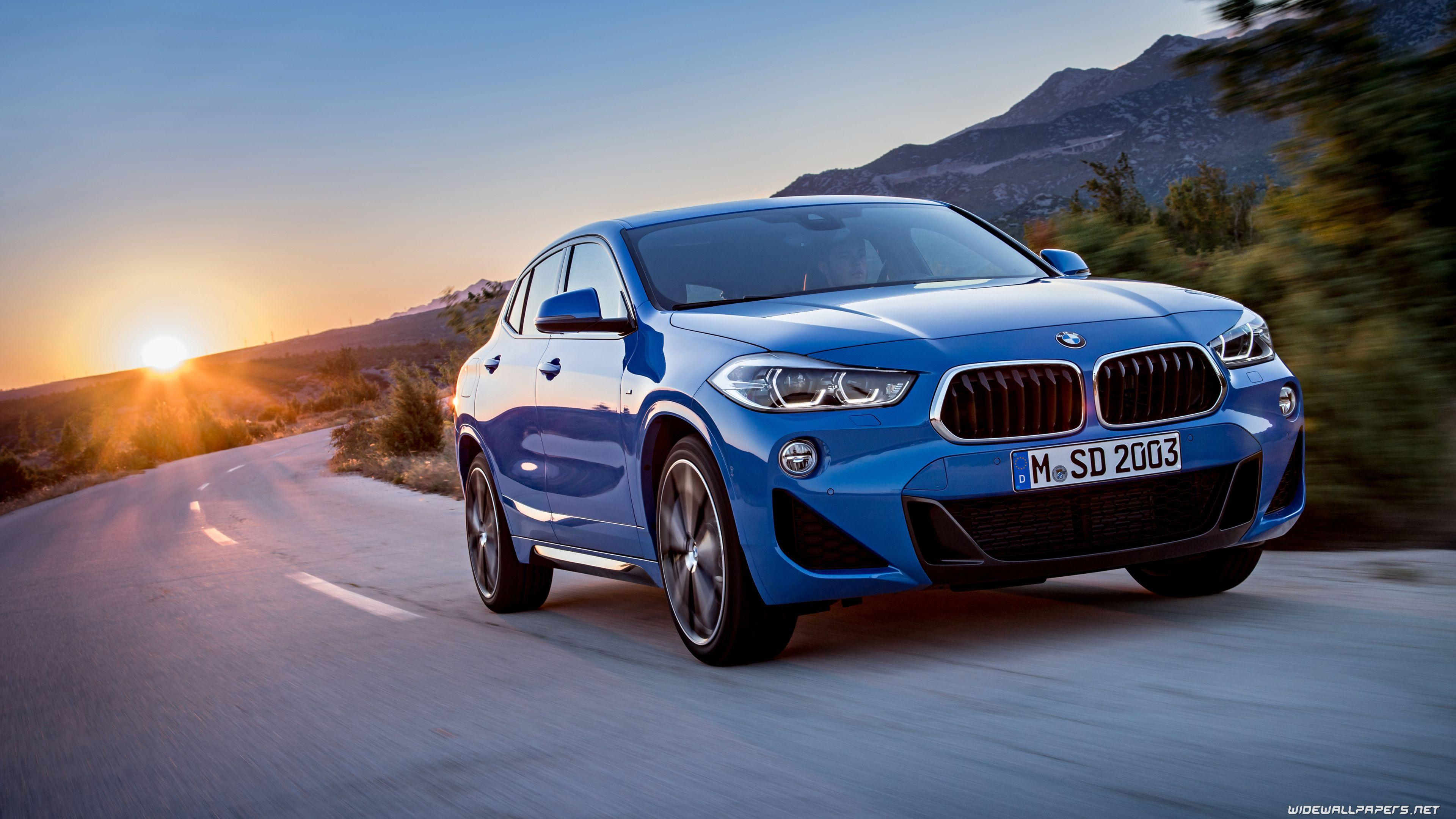 BMW X2 cars desktop wallpapers 4K Ultra HD