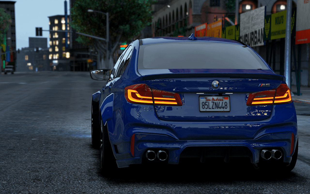 Bmw M5 2018 Wallpapers Wallpaper Cave
