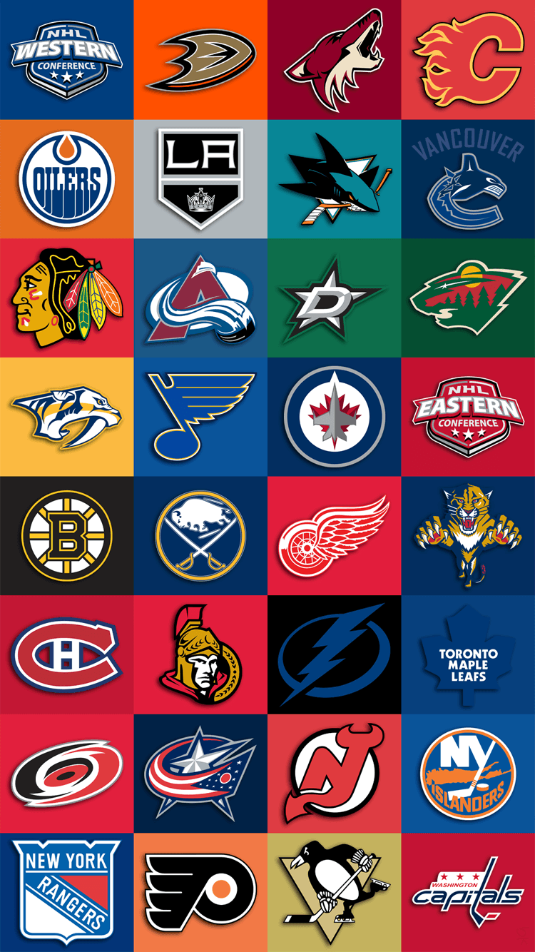 Nhl équipe Logos Iphone Wallpapers