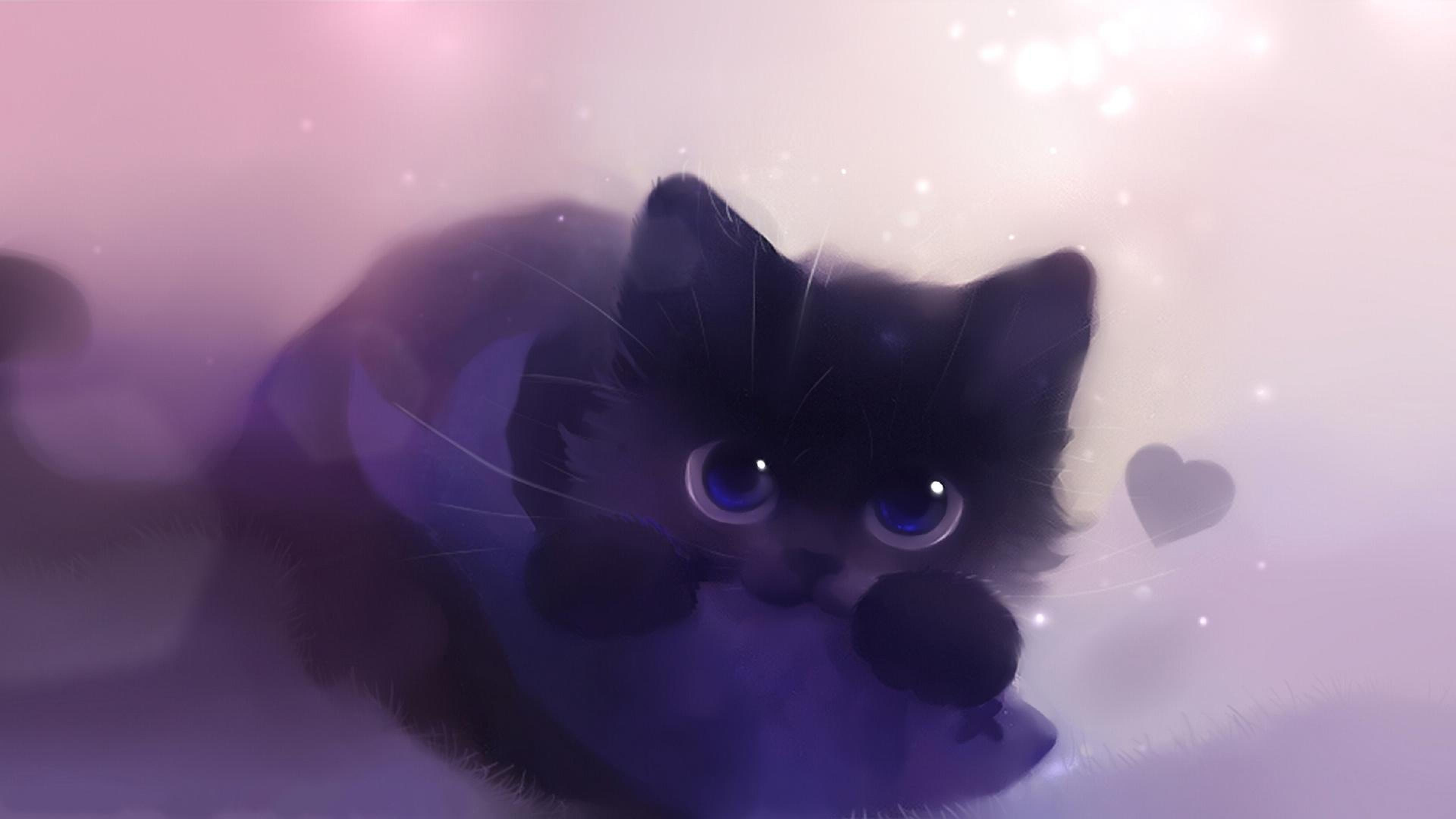 Galaxy cat wallpapers wallpaper cave - Anime cat wallpaper ...