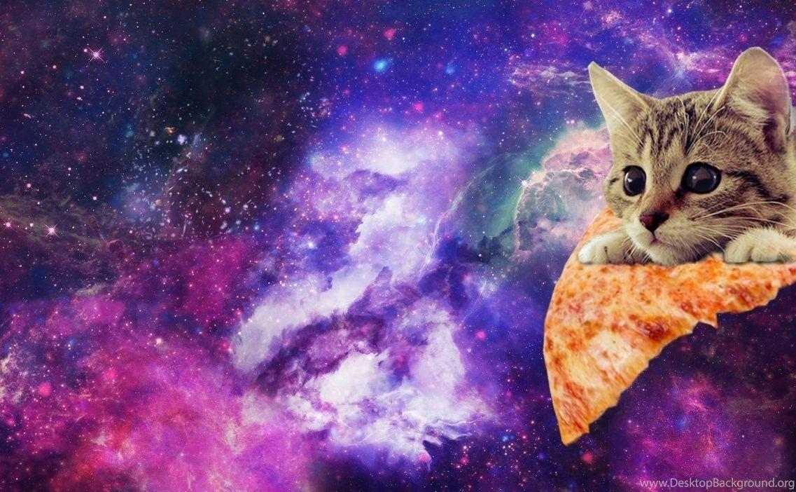 Galaxy cat wallpapers wallpaper cave - Space kitty wallpaper ...