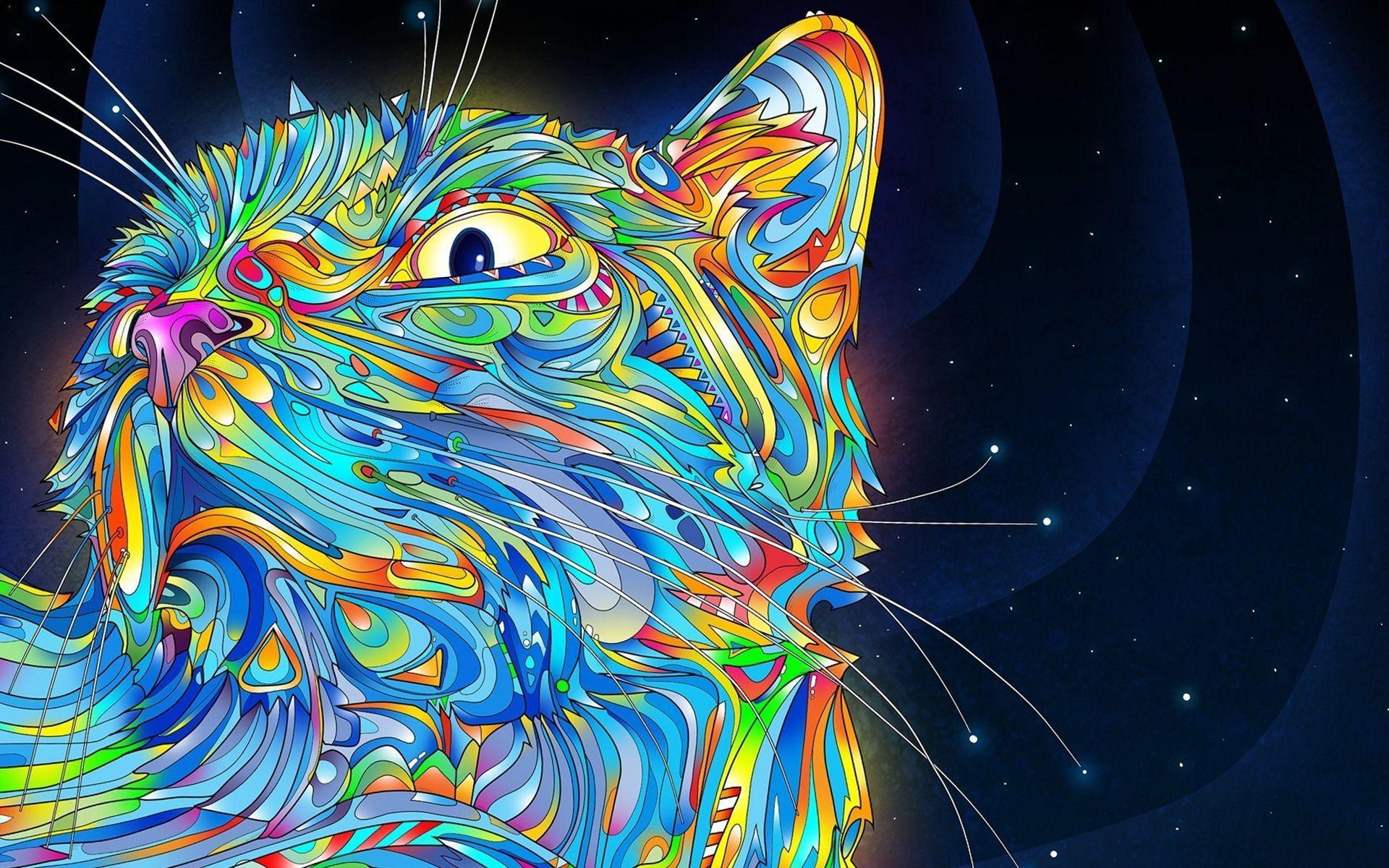 Galaxy Cat Wallpapers Wallpaper Cave