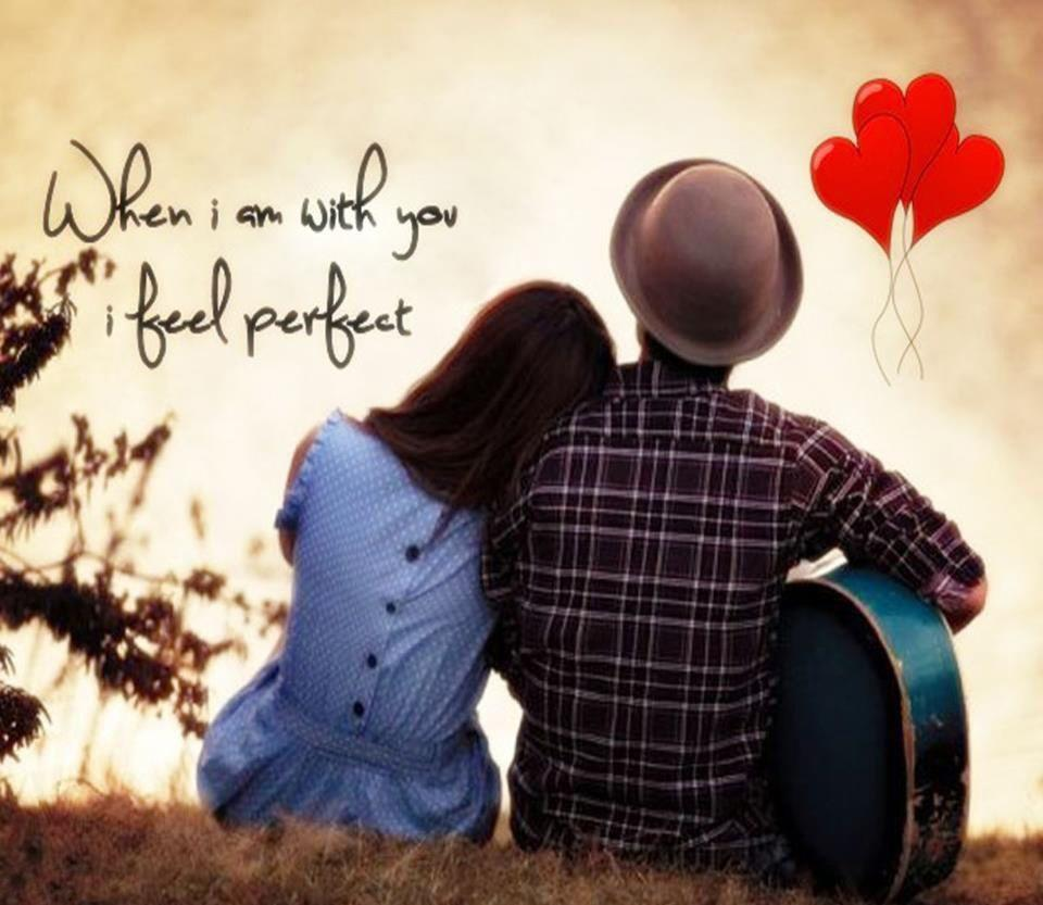 Romantic Wallpapers Of Couples With Quotes Wallpaper Cave