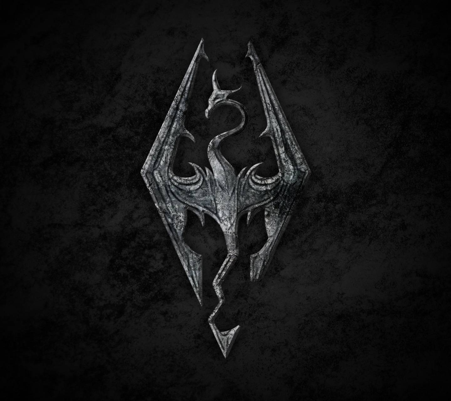 Skyrim Wallpaper: Skyrim Logo Wallpaper 1920x1080 Jpg