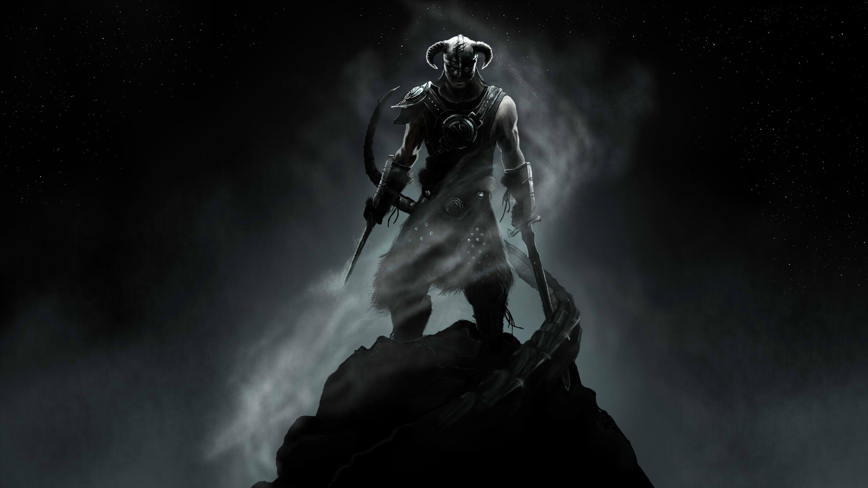 Collection Of Dragonborn Wallpaper On Hdwallpapers Skyrim Full Hd