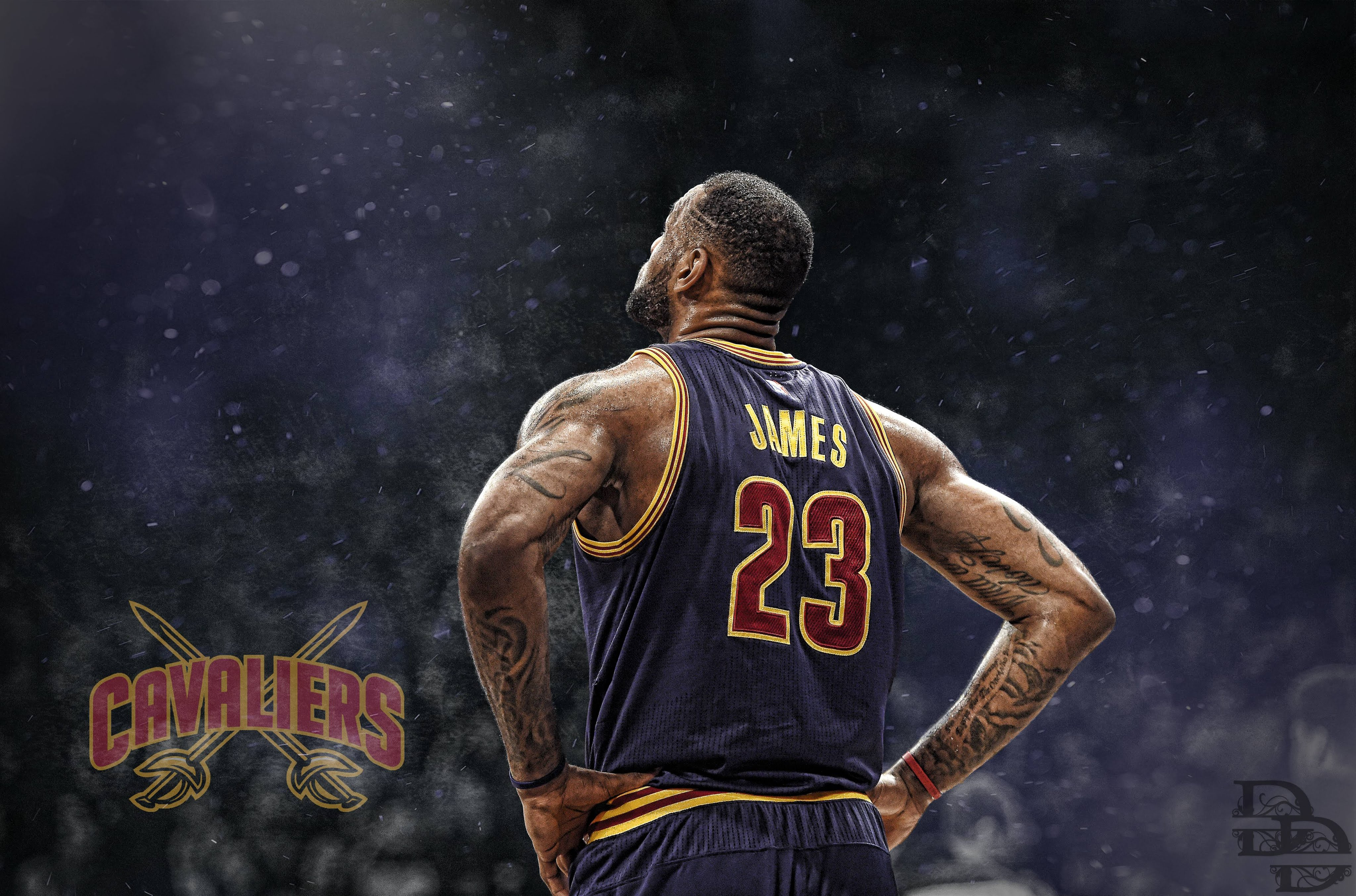Cleveland Cavaliers LeBron James Wallpapers - Wallpaper Cave