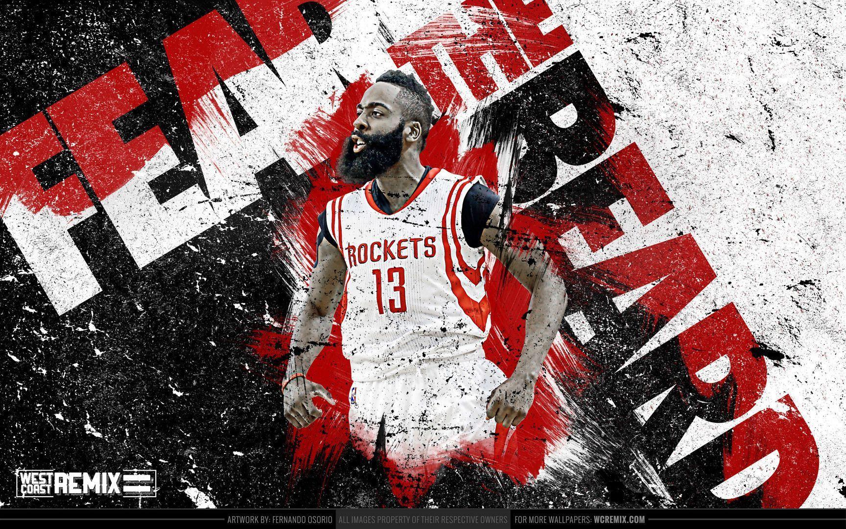 15cf0d39b5ea Houston Rockets James Harden Wallpapers - Wallpaper Cave