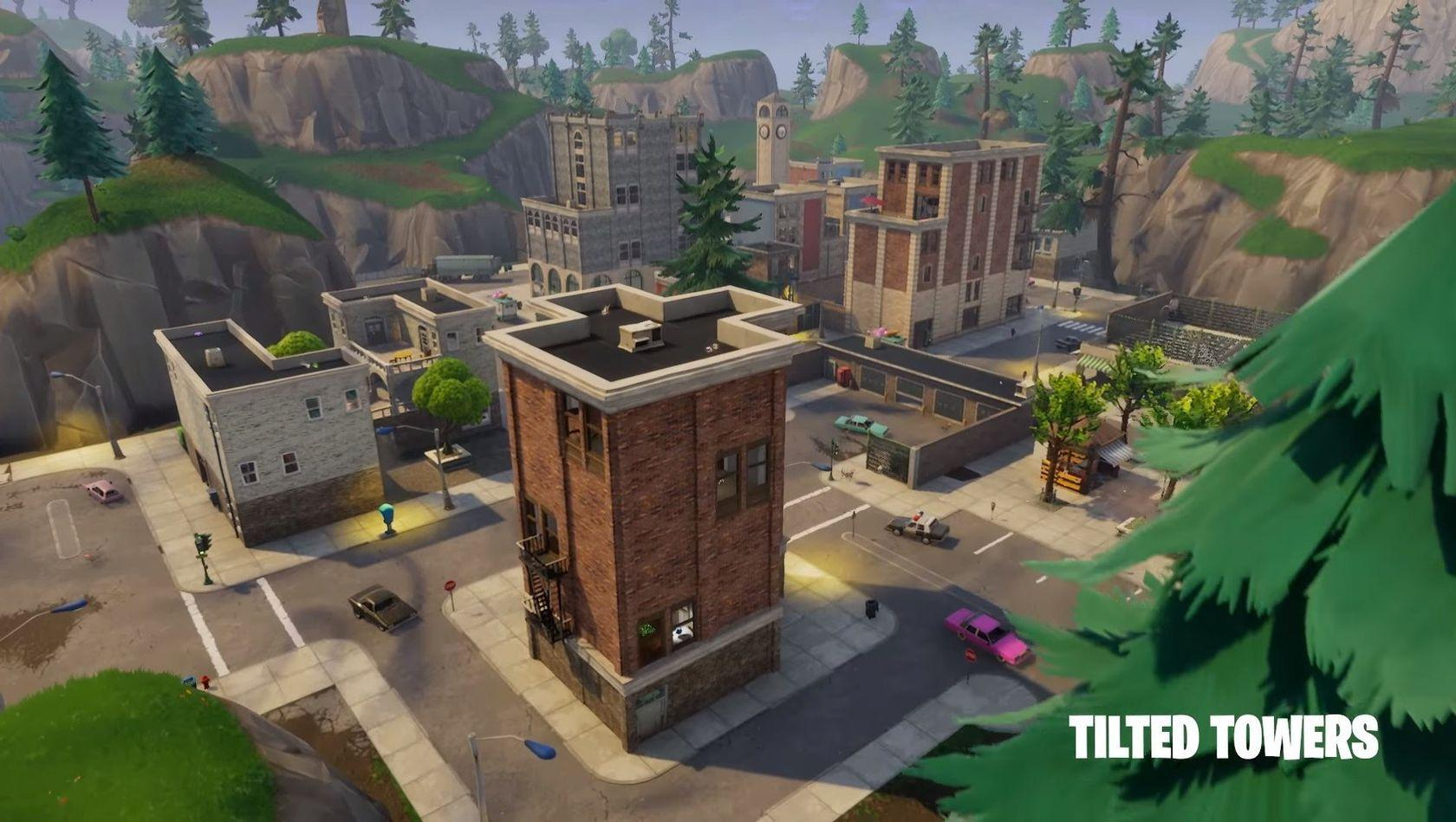 Discover Tilted Tower [Fortnite #6] — Steemkr