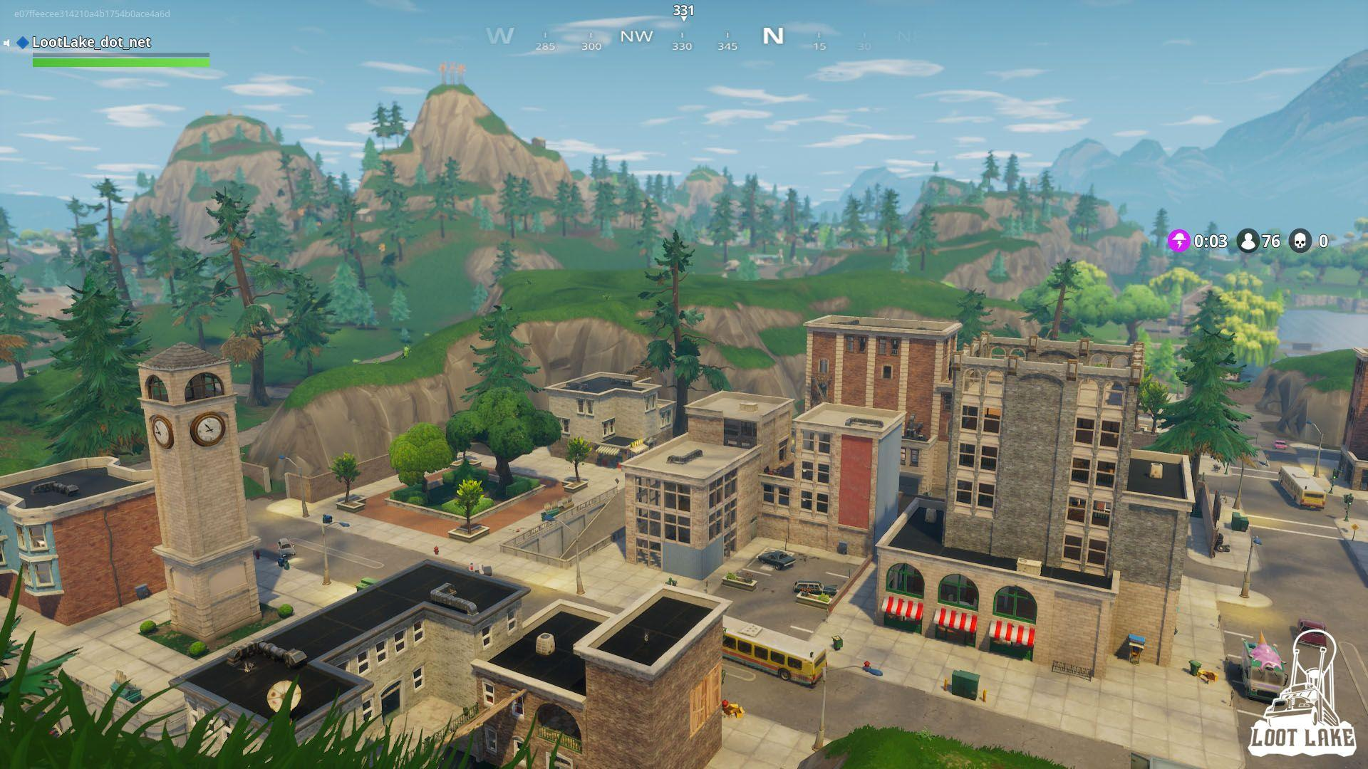 Tilted Towers 1 - Loot Lake