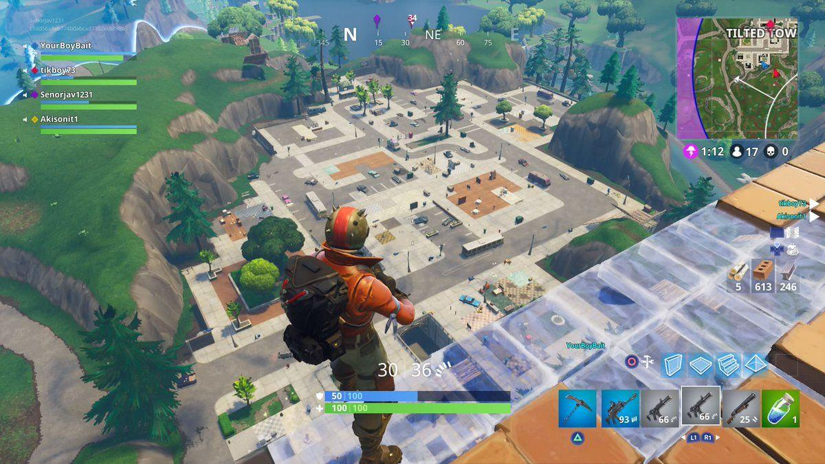 Fortnite News on Twitter: Tilted Towers cleared. Literally ...