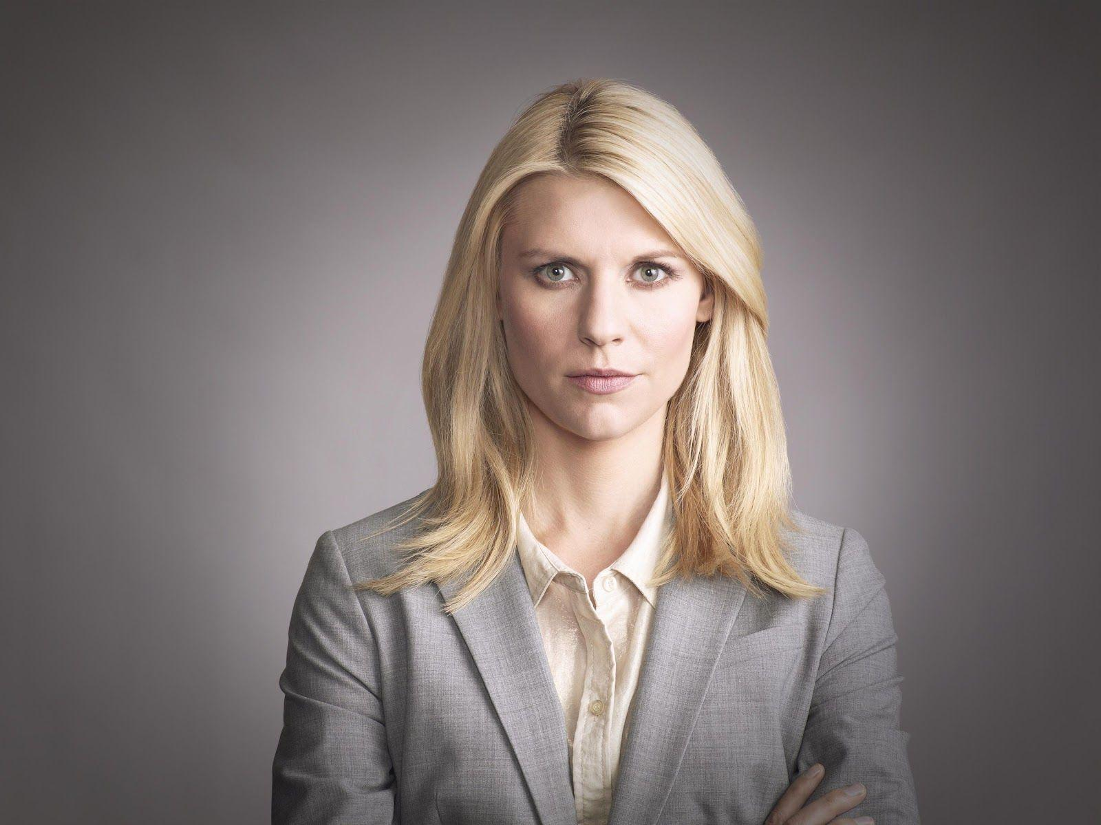 Claire Danes as Carrie Mathison. Love her!!