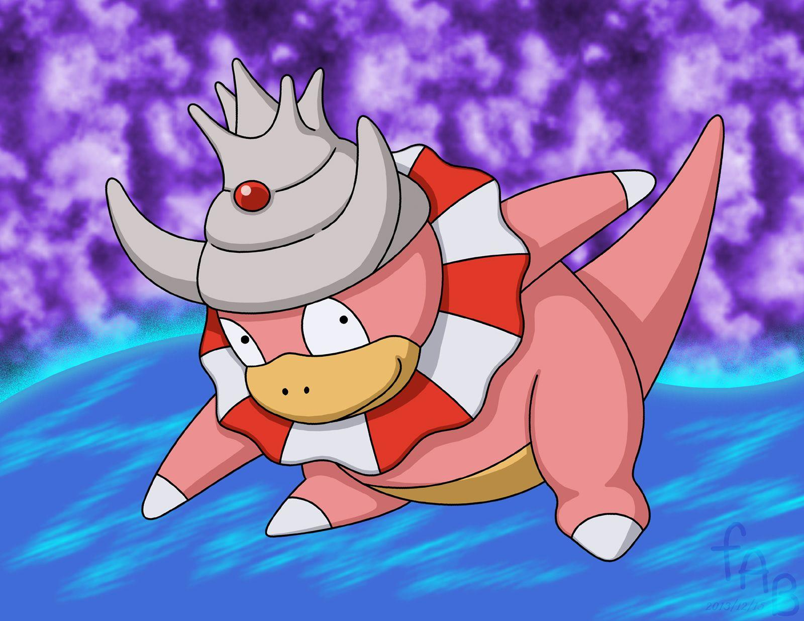 Slowking's Surf by fab-wpg on DeviantArt