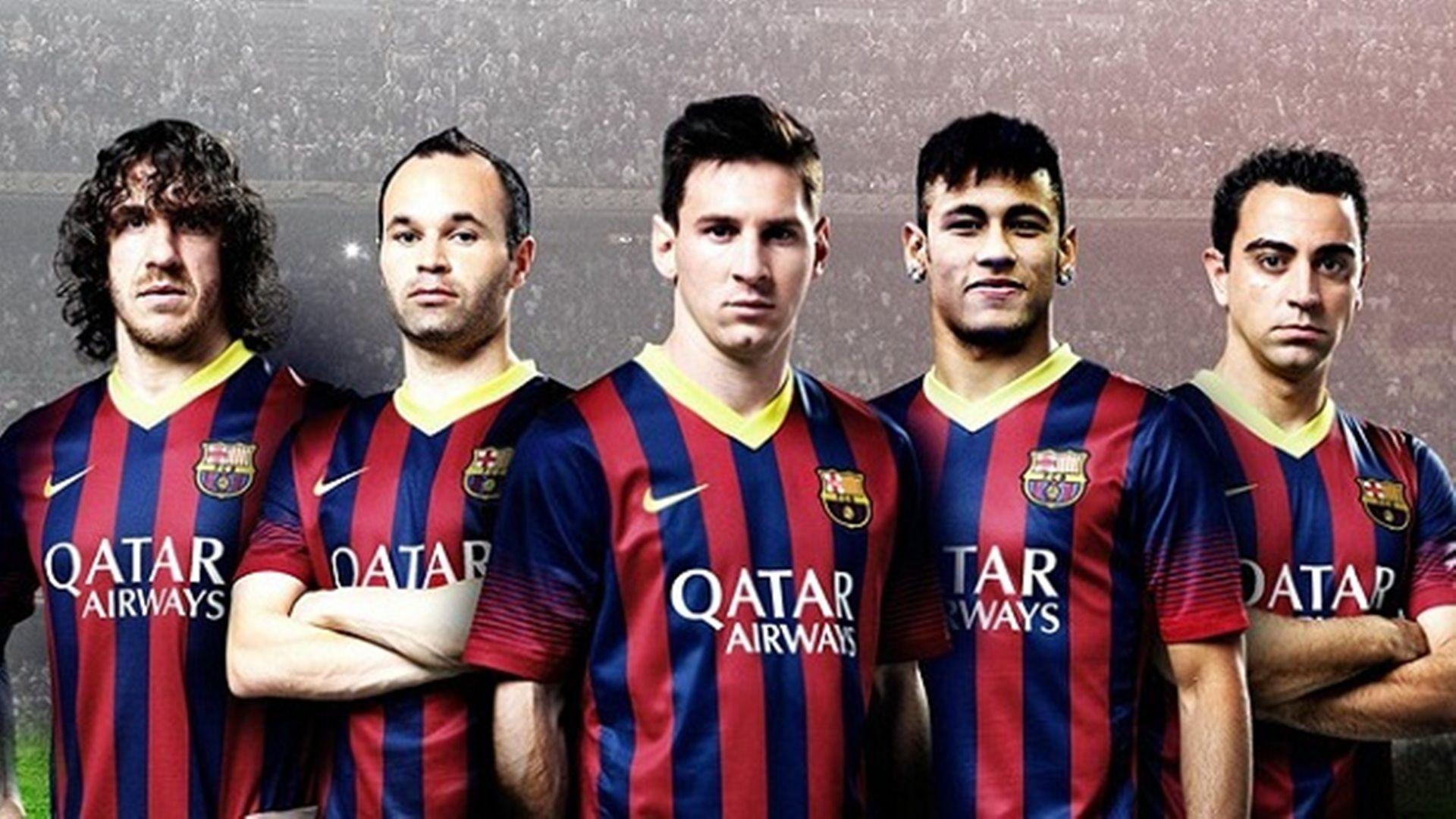 Barcelona Squad Wallpapers