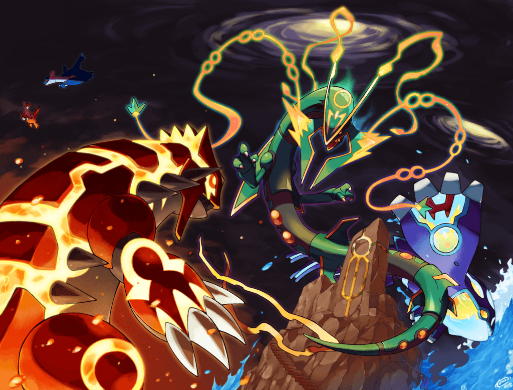 Pokemon Groudon Kyogre Rayquaza HD Wallpapers - Wallpaper Cave