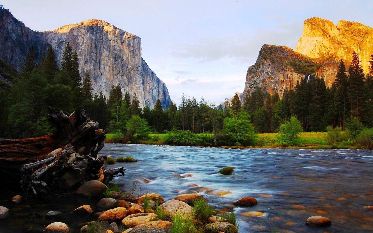 Yosemite National Park Hd Wallpapers Wallpaper Cave