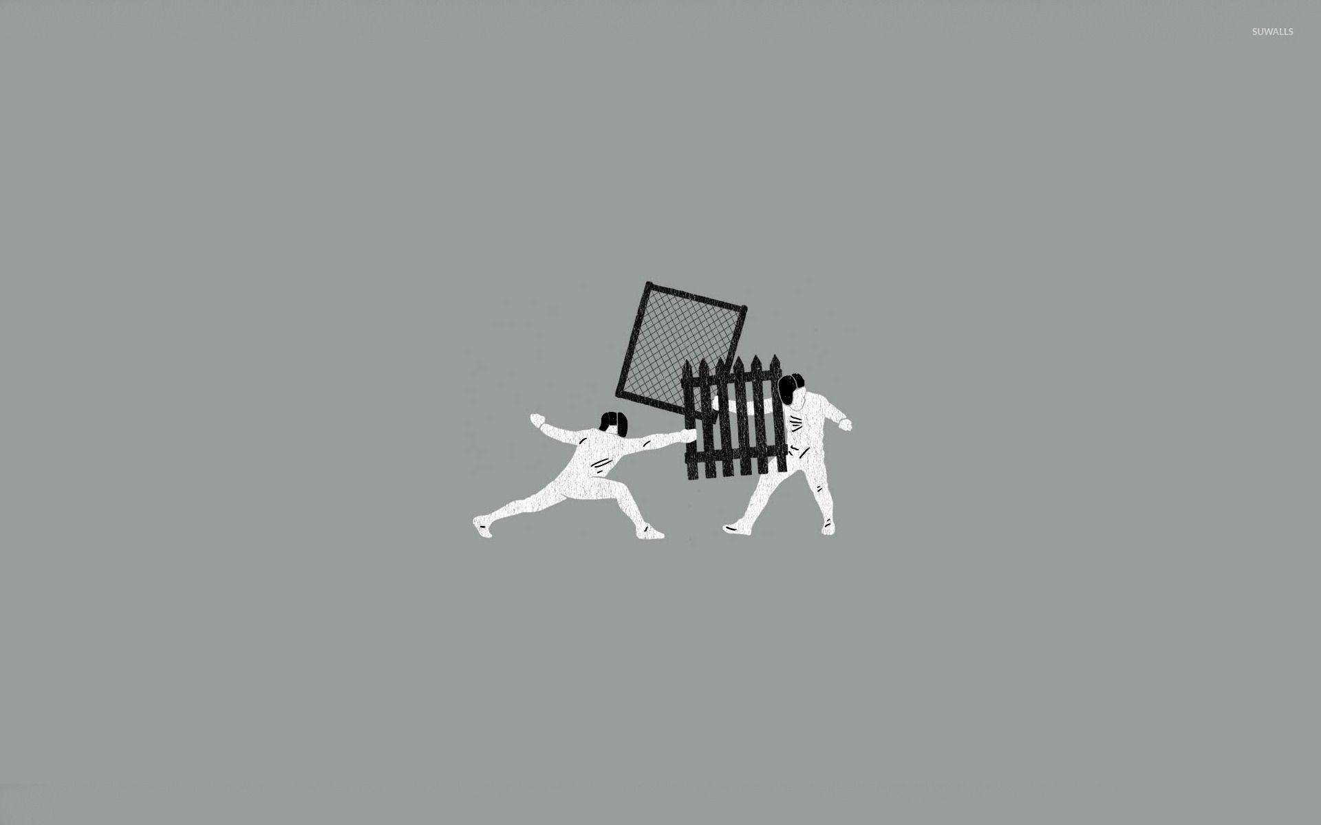 Fencing wallpaper - Funny wallpapers - #14806