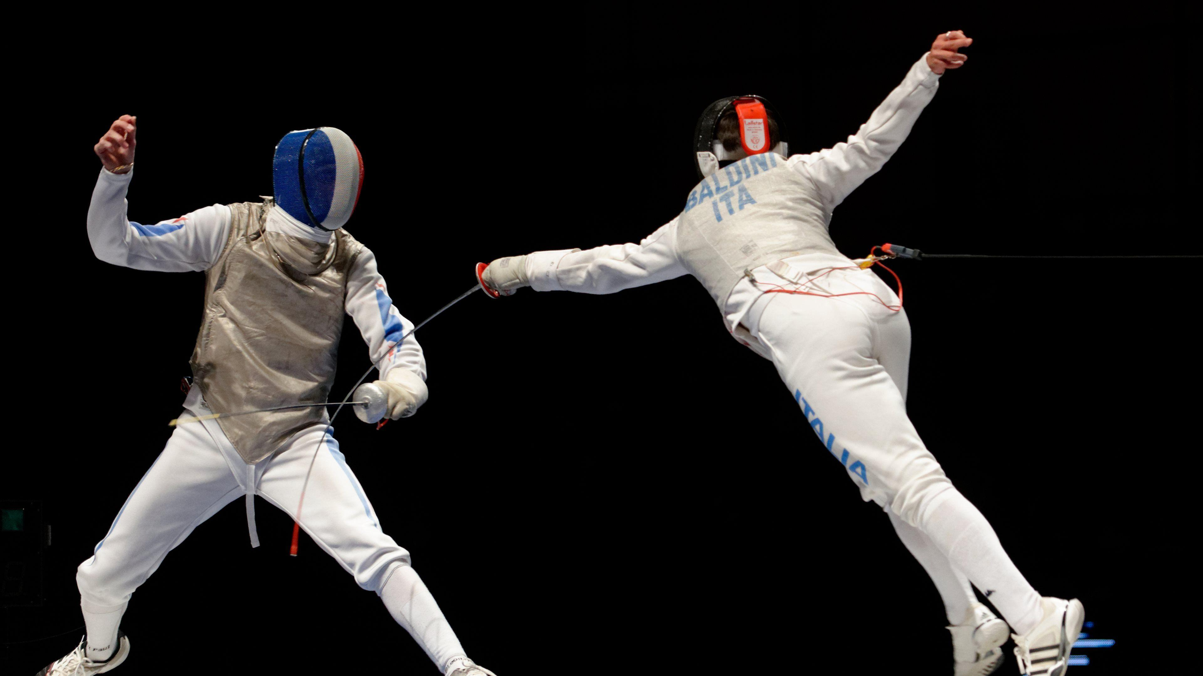 Collection of Fencing Widescreen Wallpapers: 402827624, 3840x2160 ...