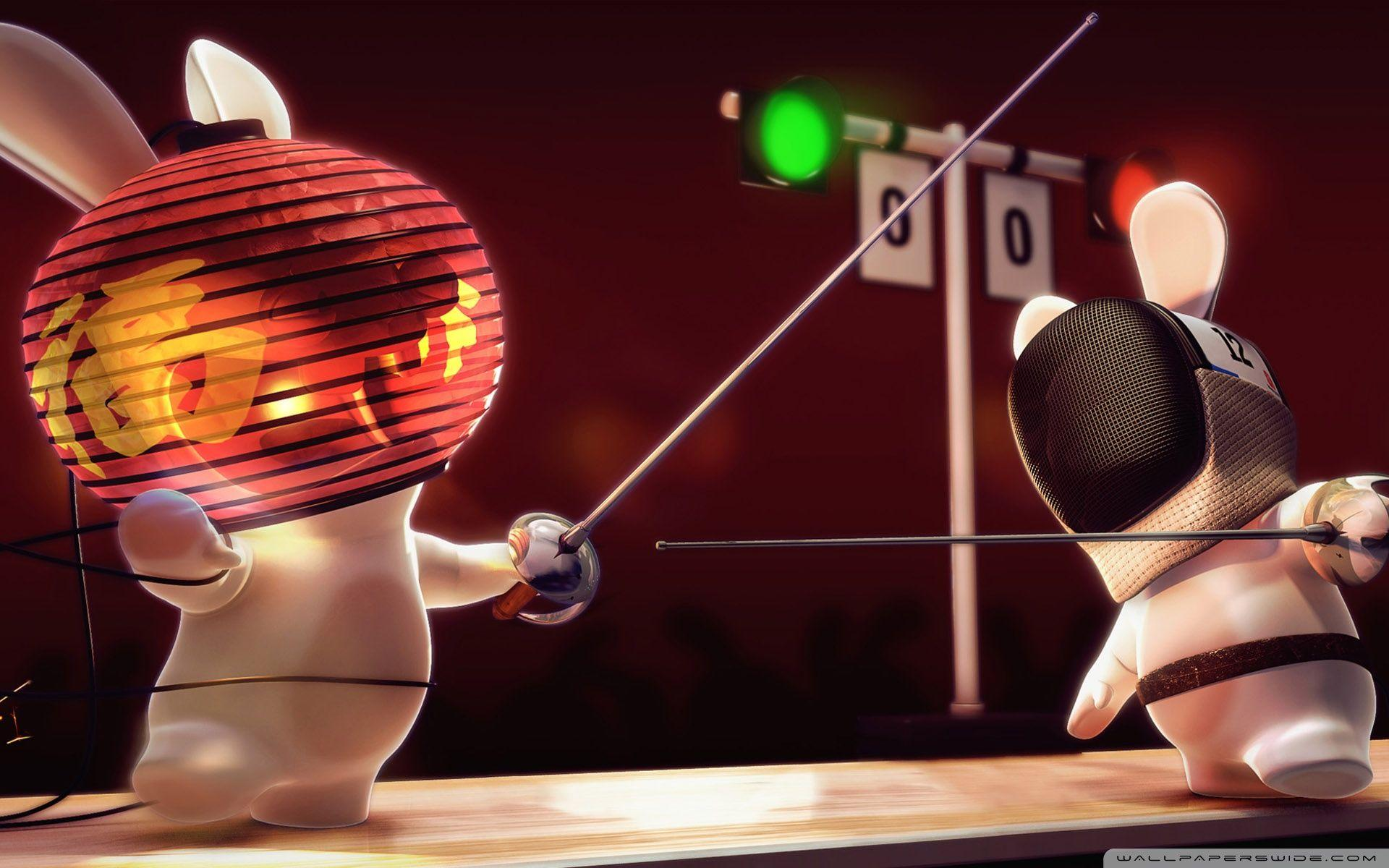 Rayman Raving Rabbids Fencing ❤ 4K HD Desktop Wallpaper for 4K ...
