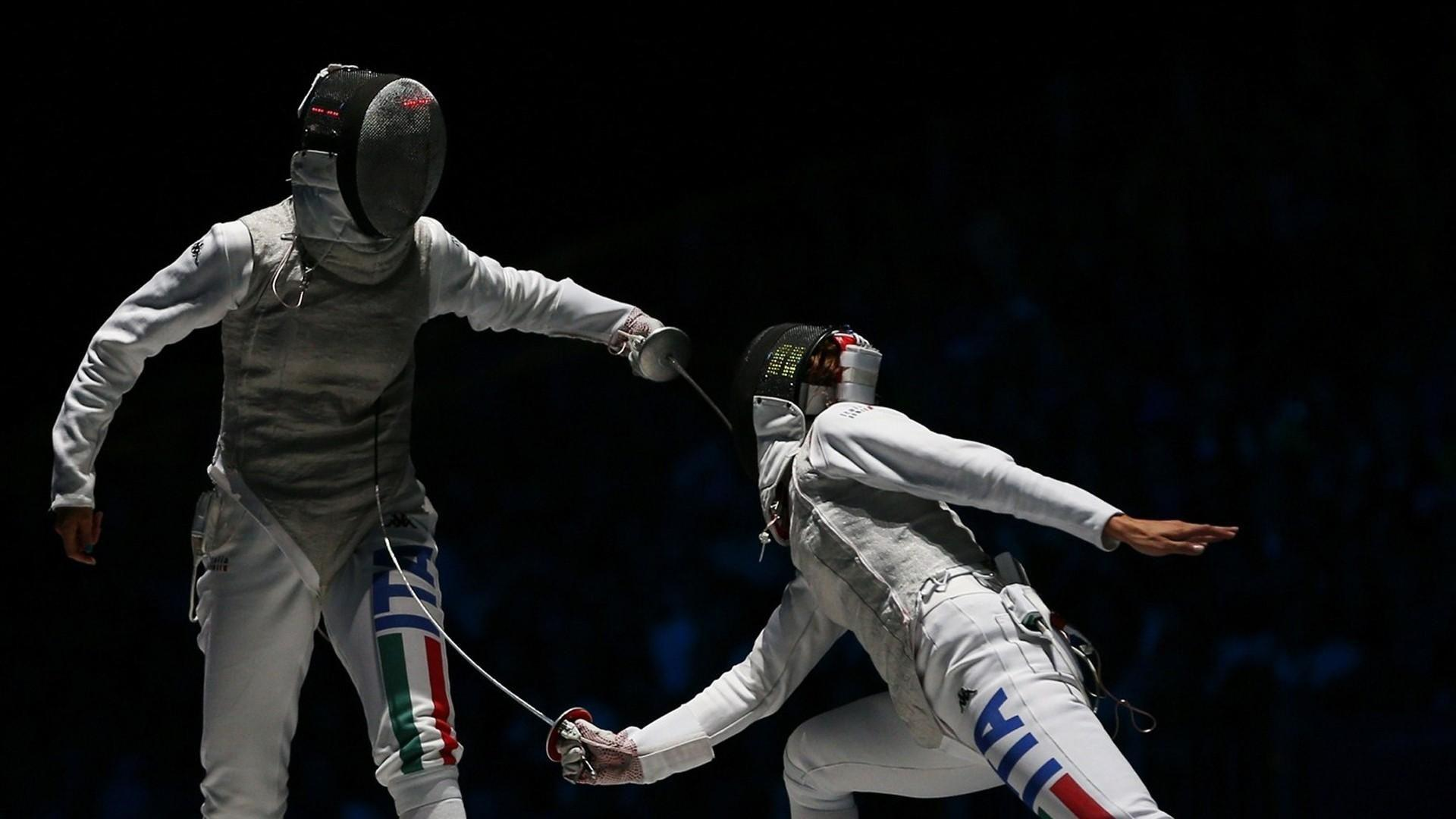 Sports fight fencing olympics 2012 wallpaper | (106679)