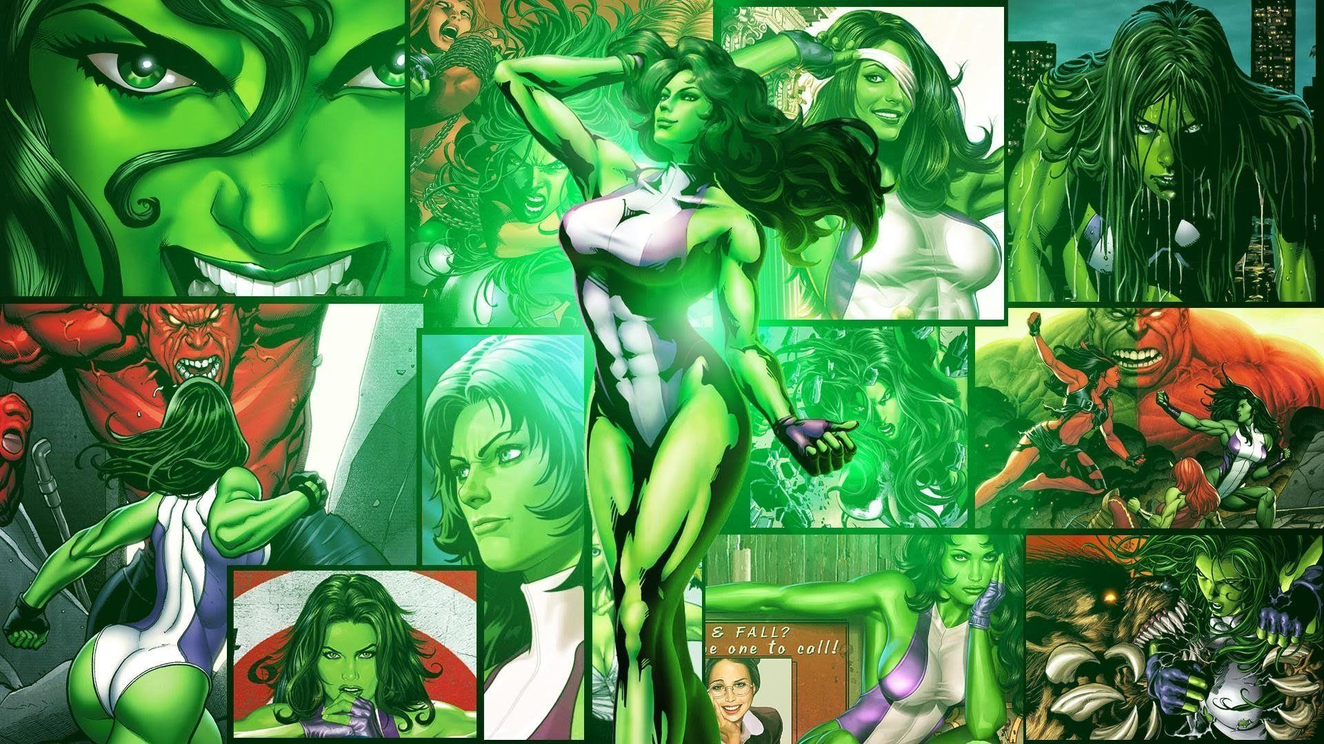 She Hulk Wallpapers Wallpaper Cave