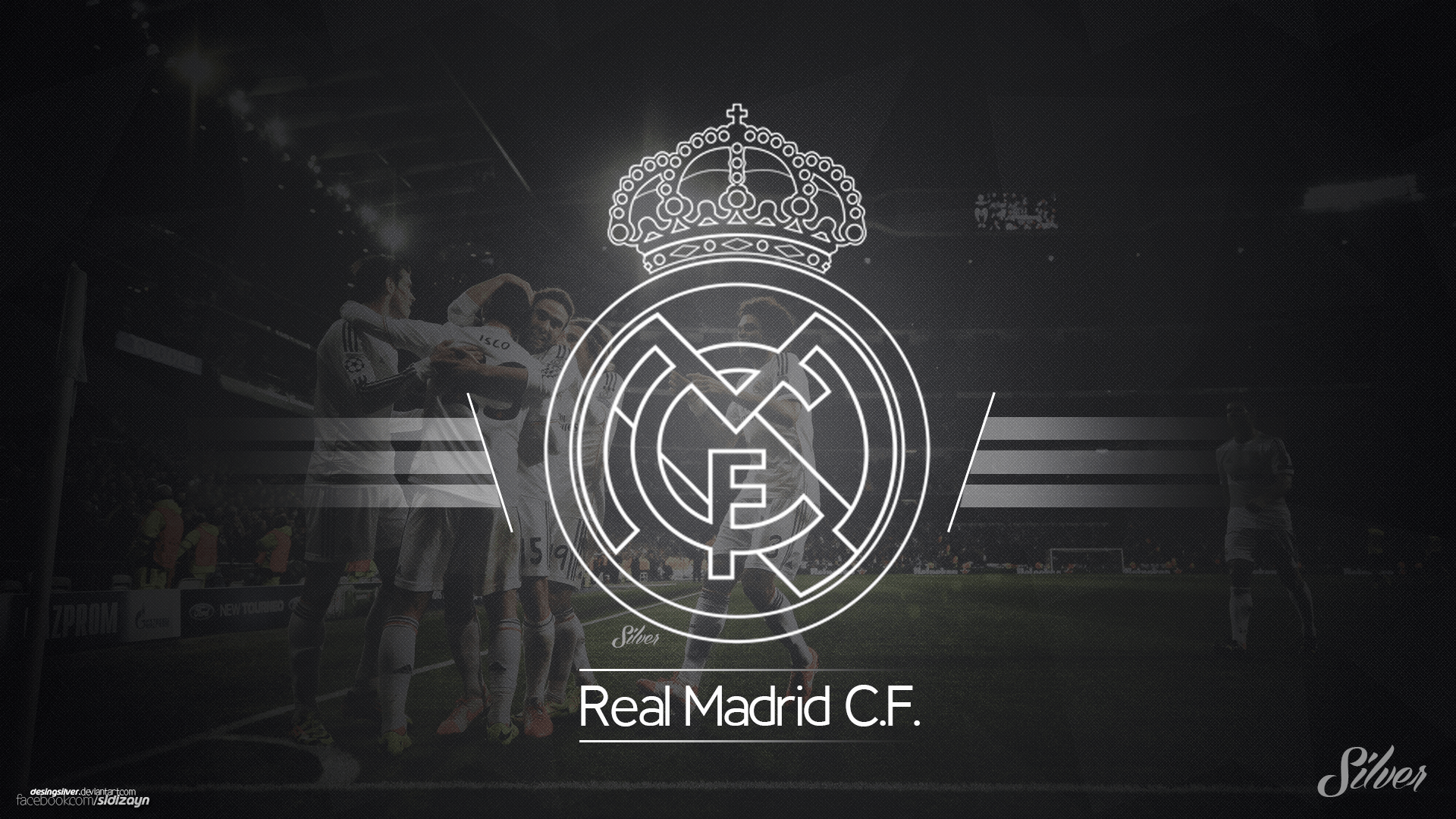 Black And White Madrid real madrid wallpapers black - wallpaper cave