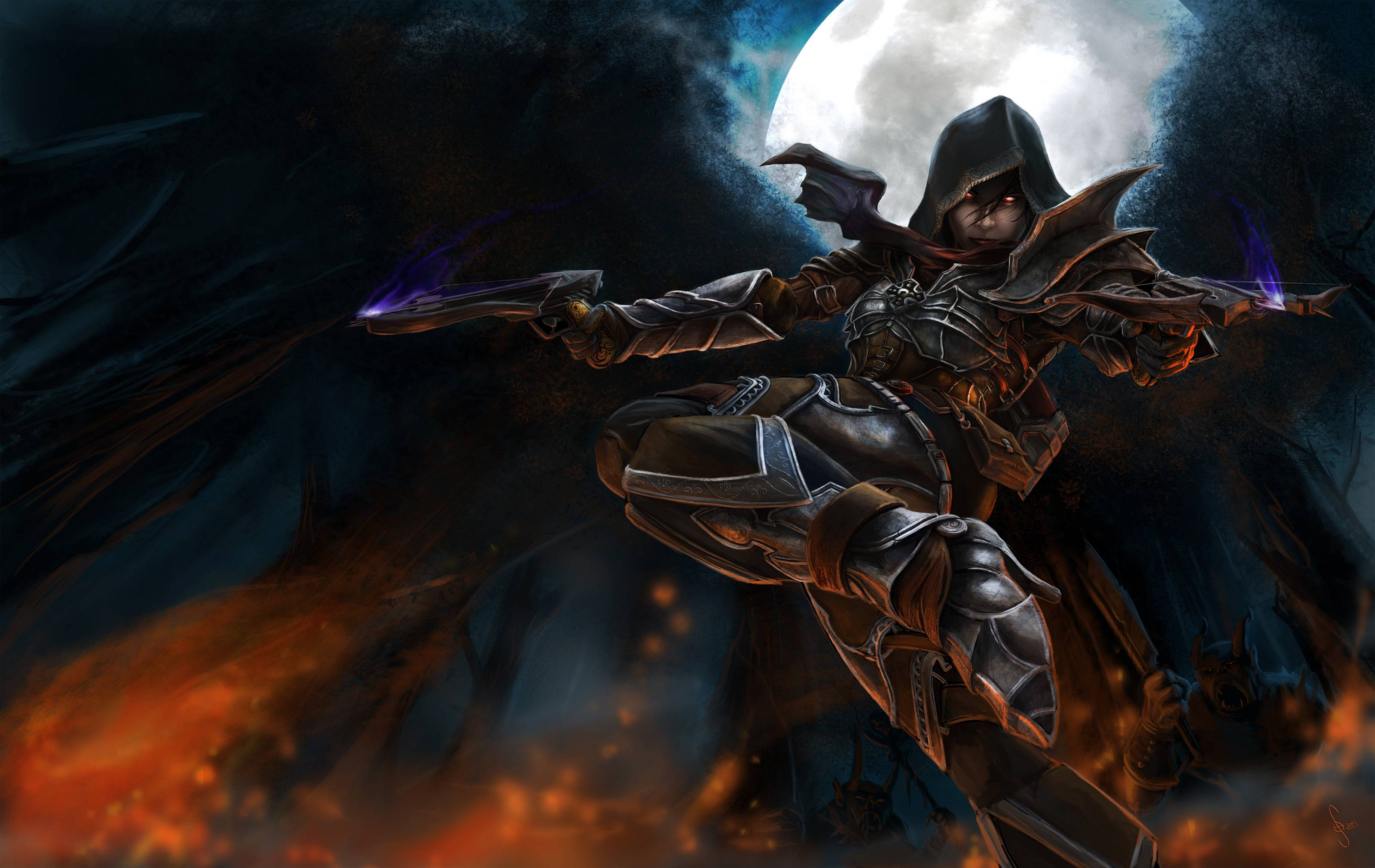 Best Demon Hunter Game Photos